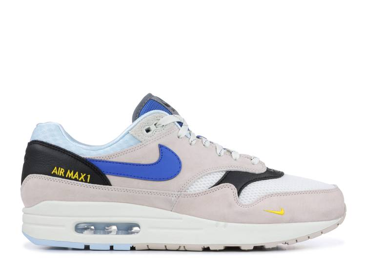 aislamiento Parche tensión  Size? X Air Max 1 'Dawn' - Nike - AV5188 001 - desert sand/royal blue/cobalt  tint/sail | Flight Club