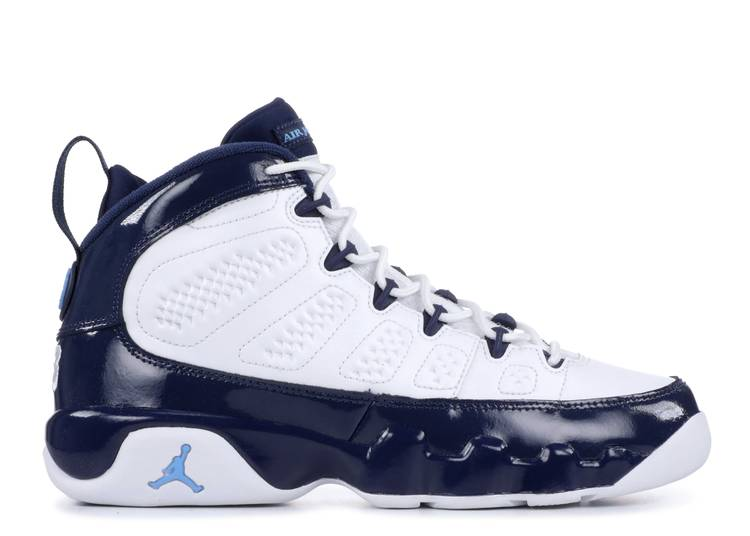 Air Jordan 9 Retro GS 'UNC'