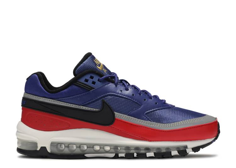 Air Max 97 Bw Royal Blue Red Nike Ao2406 400 Deep Royal