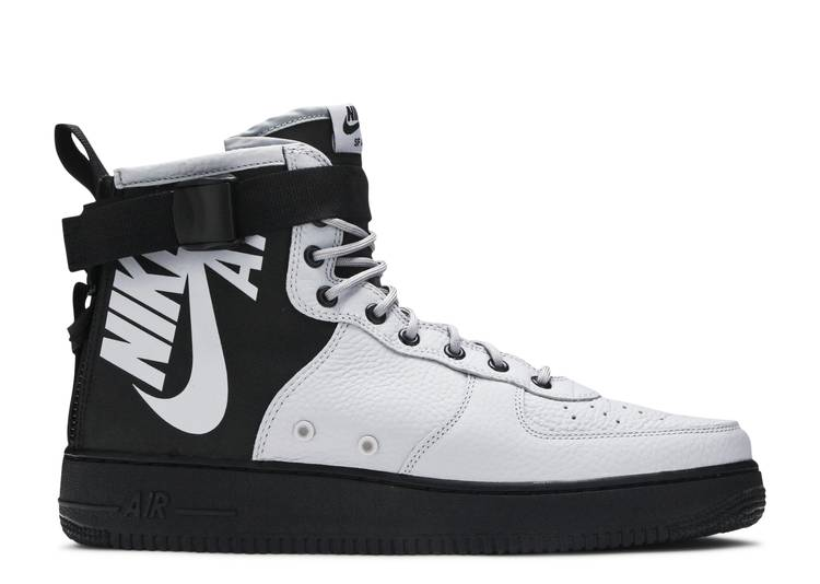 SF Air Force 1 Mid 'Wolf Grey'
