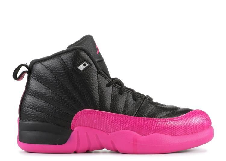 Air Jordan 12 Retro PS 'Black Deadly Pink'