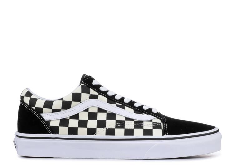 Old Skool 'Black Checkerboard'