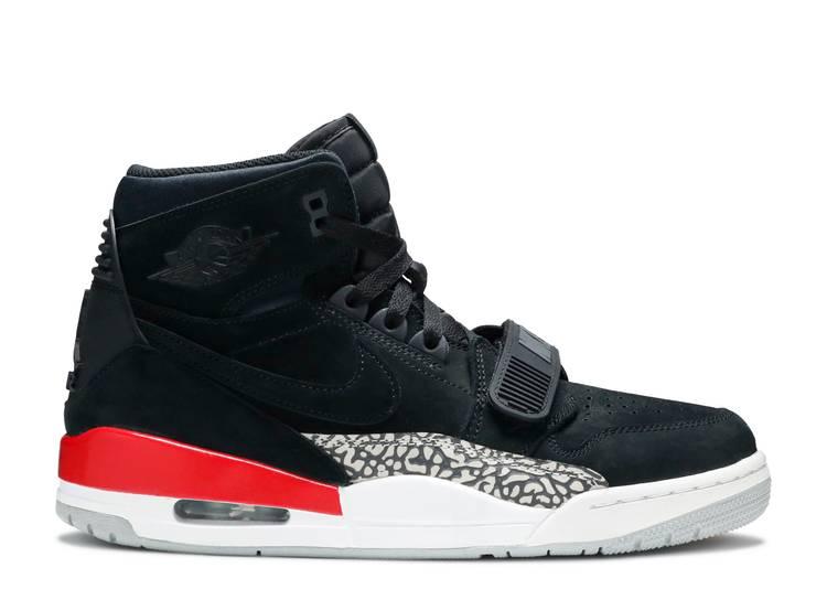 Jordan Legacy 312 'Black Suede'
