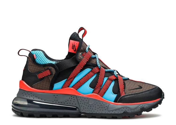 Nike Air Max 270 Bowfin Dark Russet Bright Crimson Mens Size 12 AJ7200 200