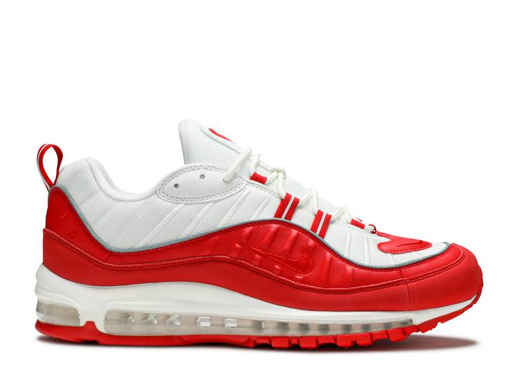 melocotón detergente fiesta  Air Max 98 'University Red' - Nike - 640744 602 - university red/white |  Flight Club