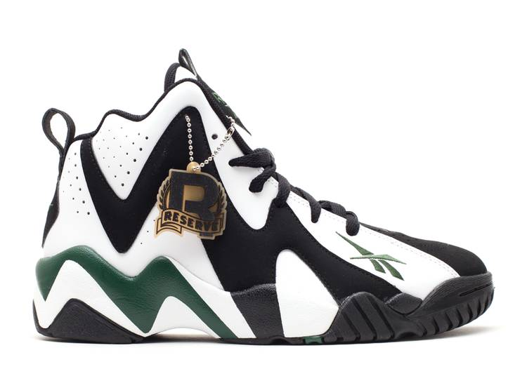kamikaze 2 mid 'Black White Green'