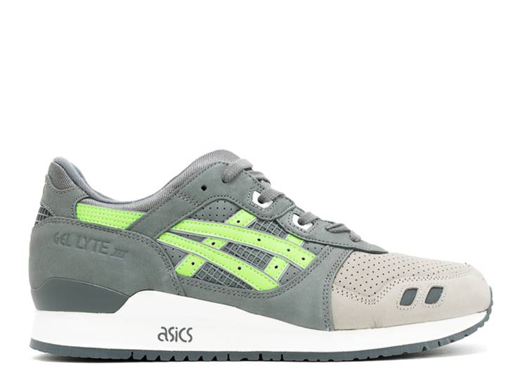 Ronnie Fieg x Gel Lyte 3 'Super Green' 2016