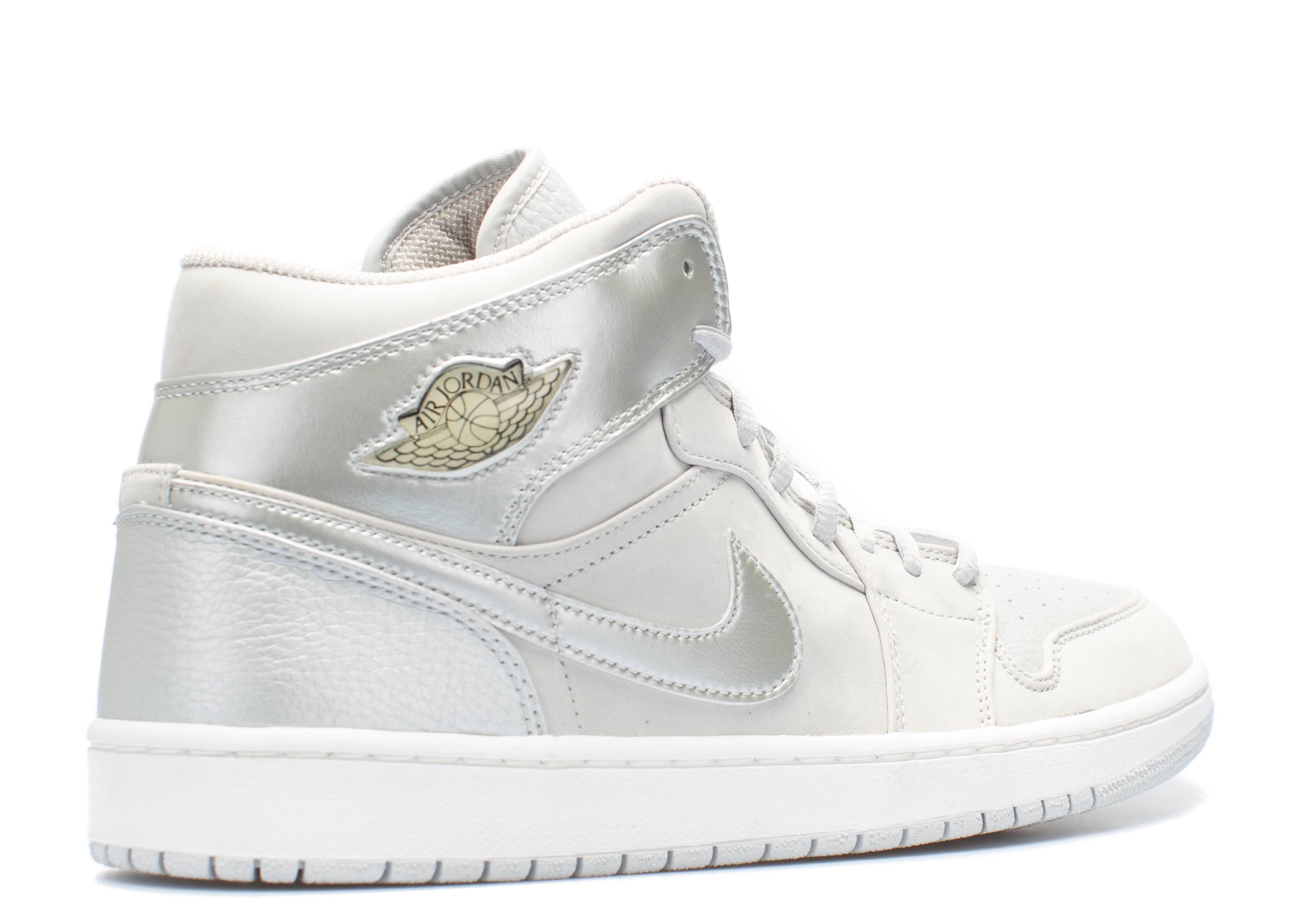 Air Jordan 1 Metallic Silver