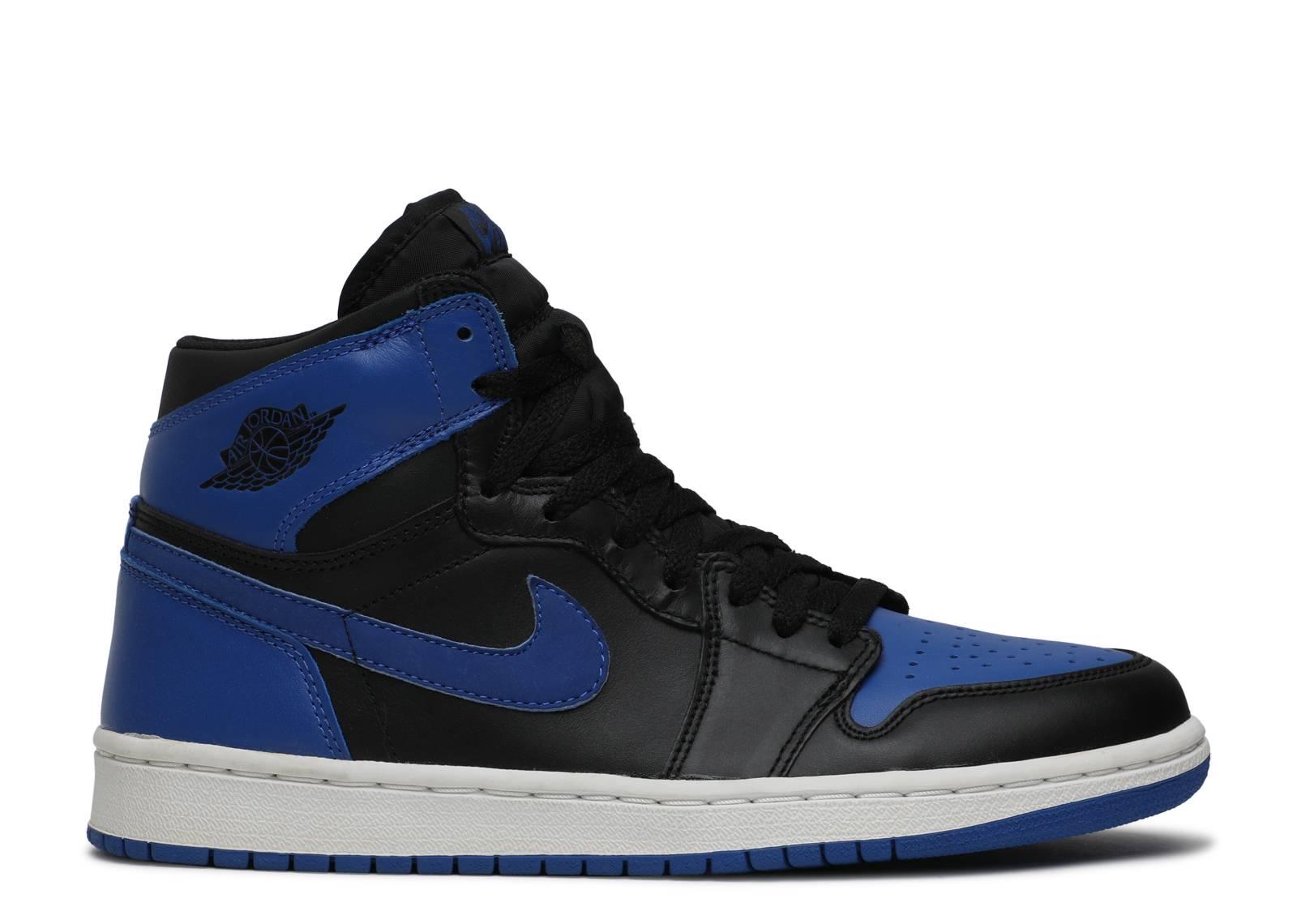 Air Jordan 1 Retro - Air Jordan - 136066 041 - black royal blue ... efb724296