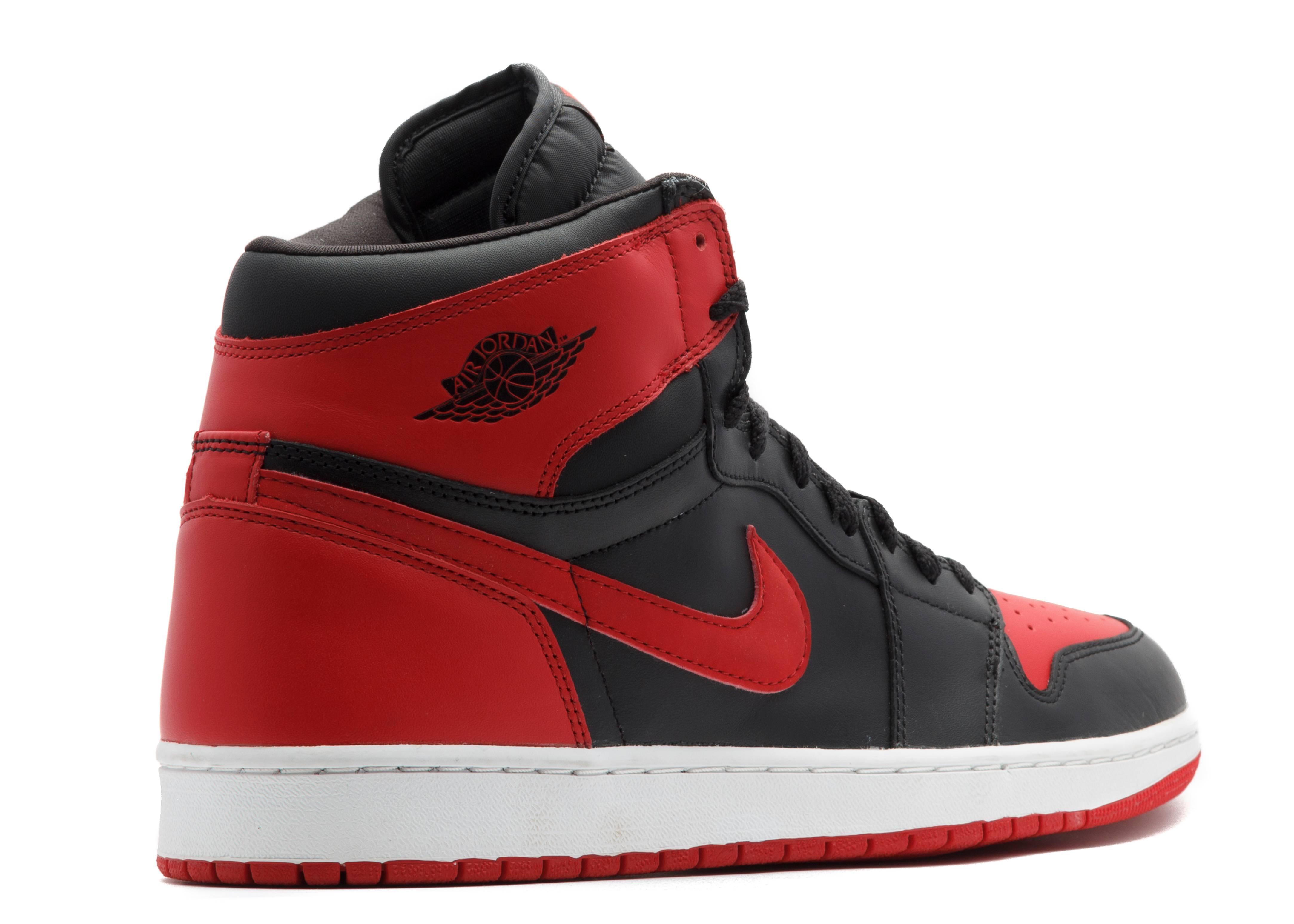 865d10f47fc ... top quality air jordan 1 retro black and red a3aa2 5554f