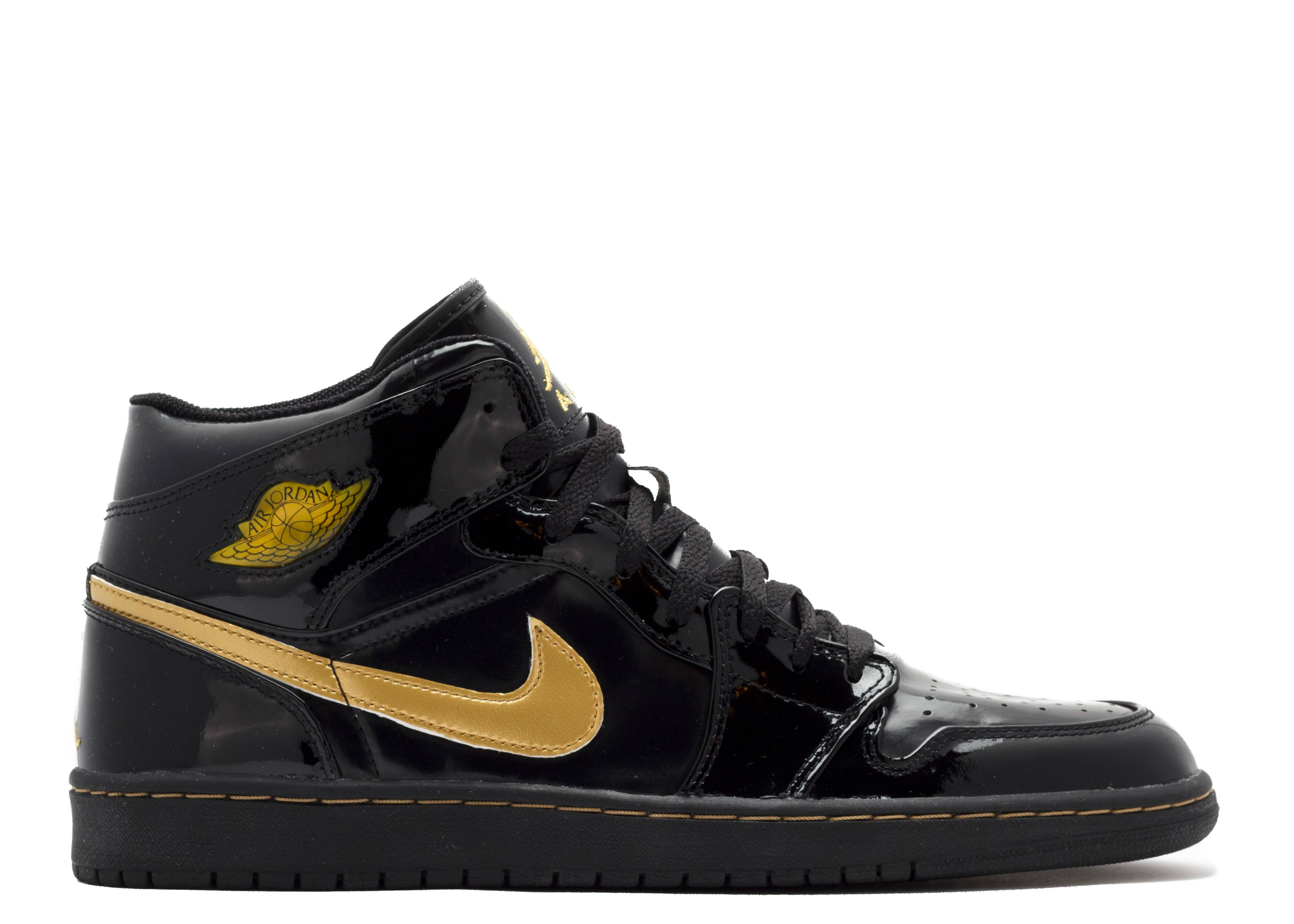 air jordan 1 black and gold 2003