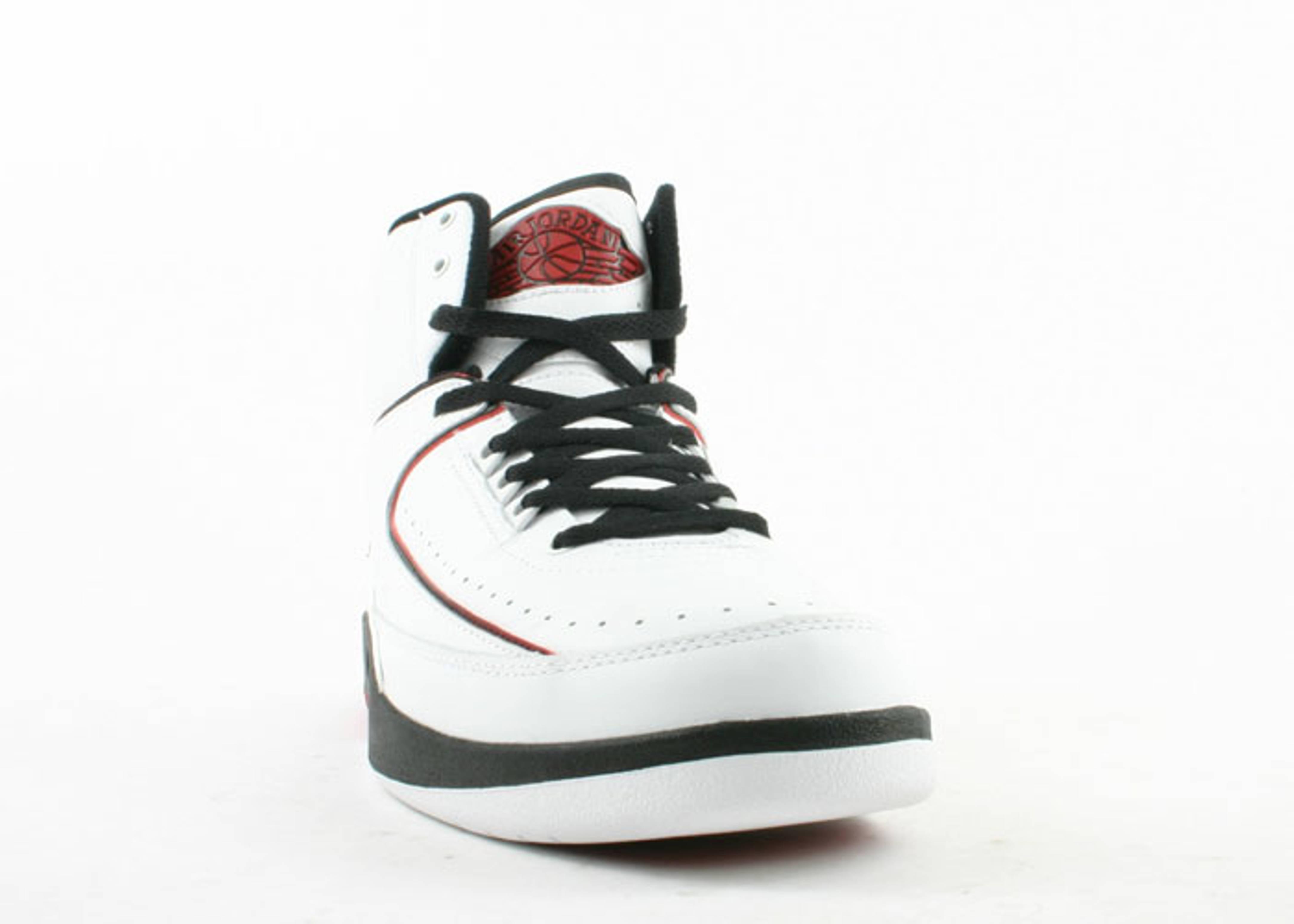 a6a378c482b Air Jordan 2 Retro - Air Jordan - 308308 161 - white/varsity red ...