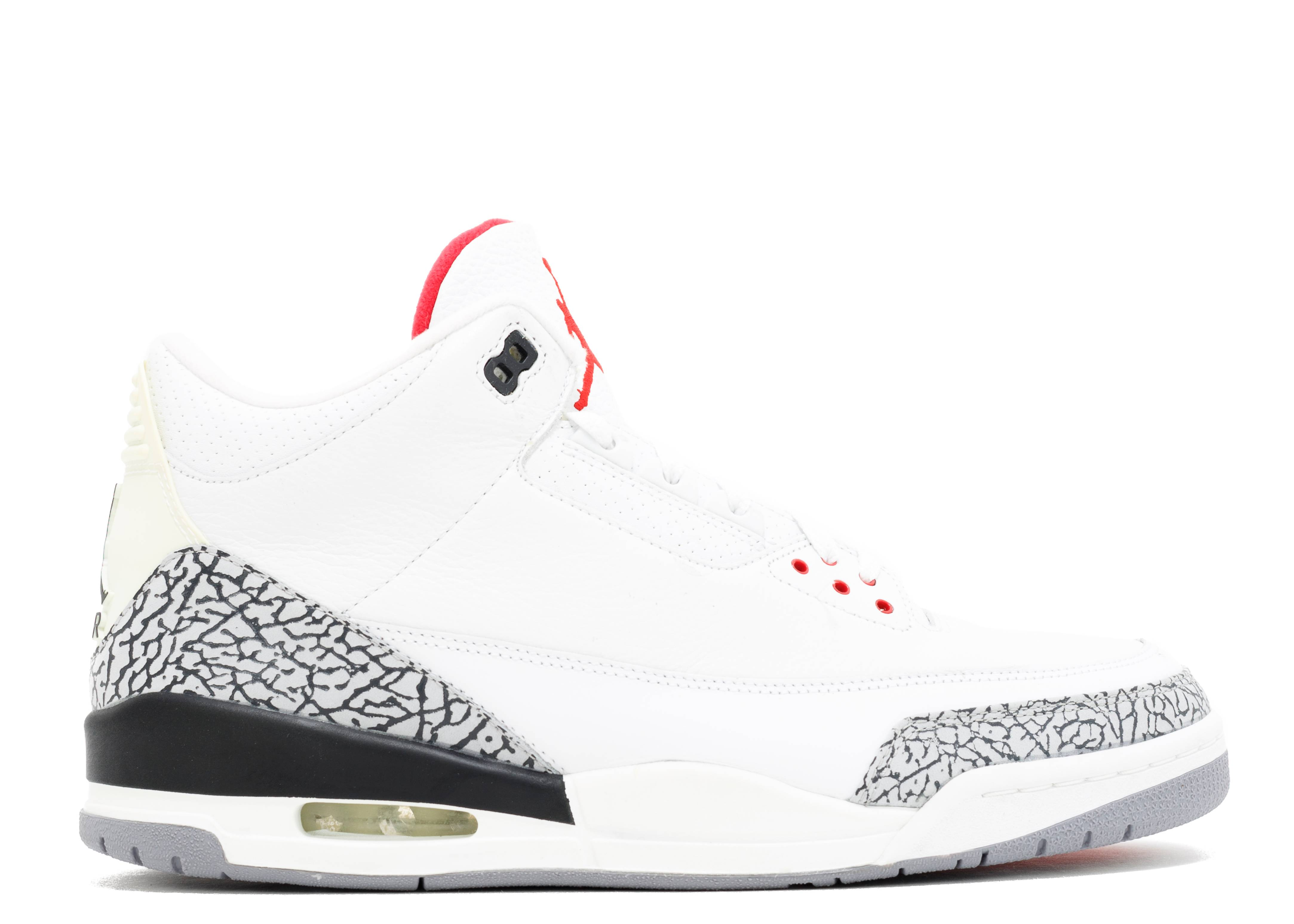 Air Jordan 3 Retro Blanc Ciment