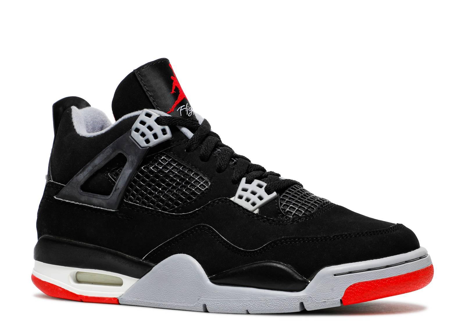Jordan 4 Black Cement