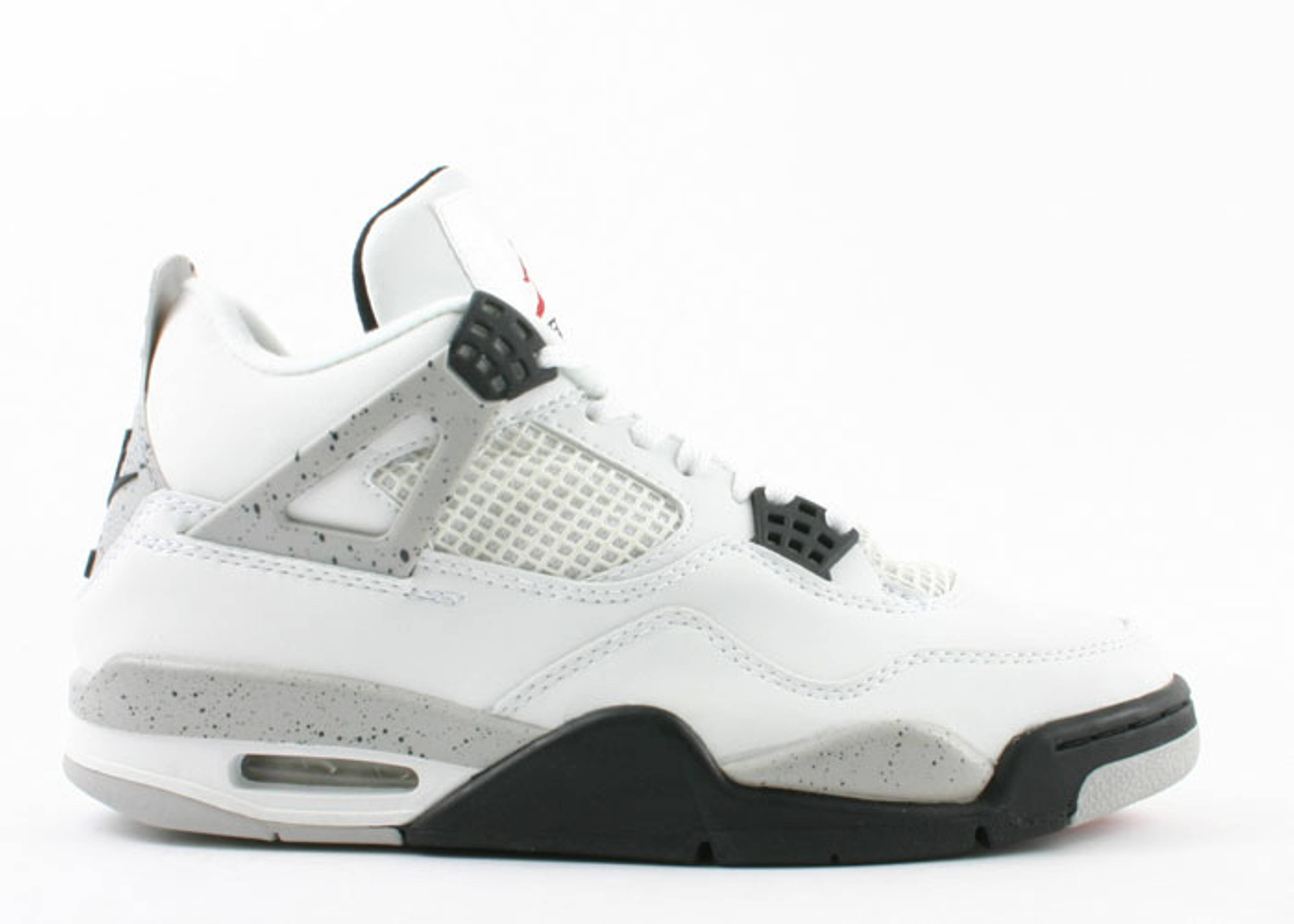 White Retro: Air Jordan 4 Retro White/black