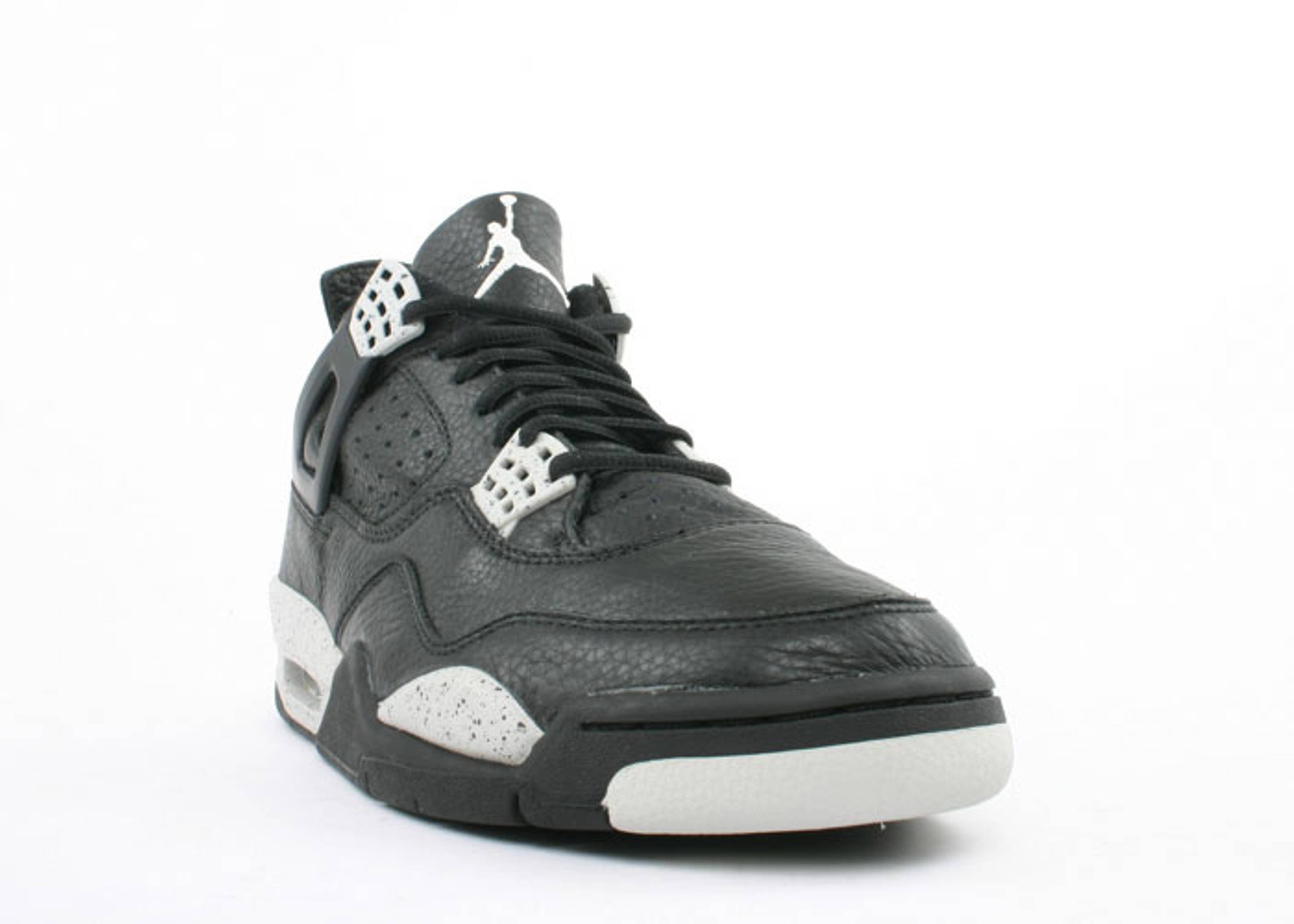 b467727eb479 Air Jordan 4 Retro + - Air Jordan - 136030 001 - black black-cool grey