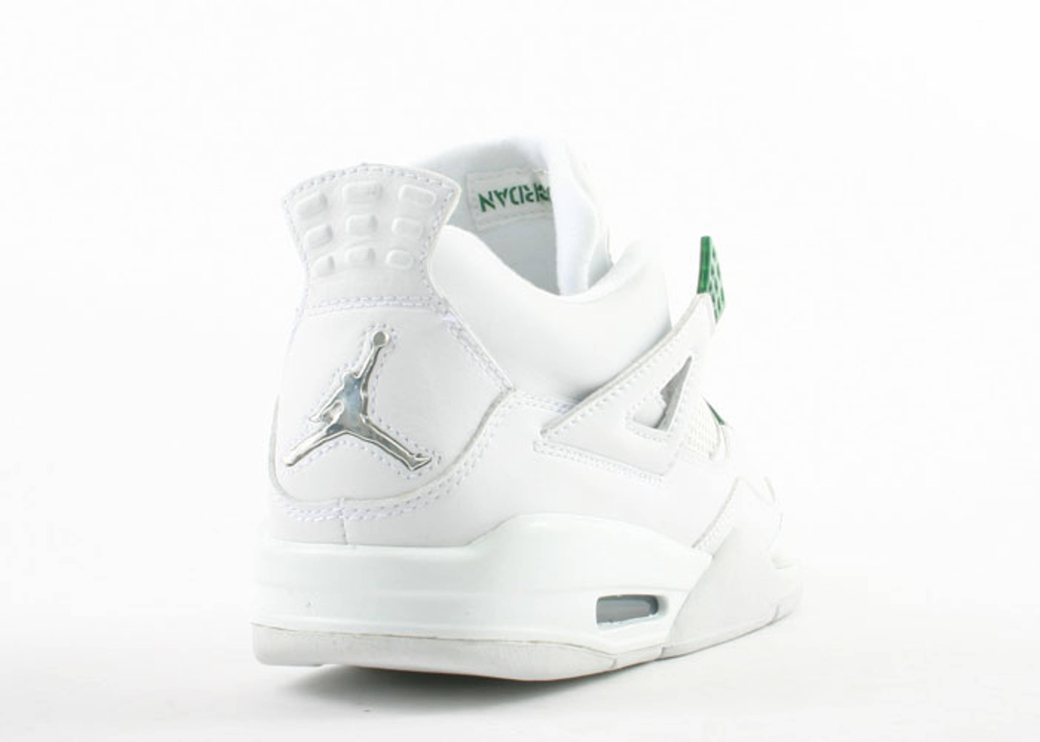 white jordan 4s