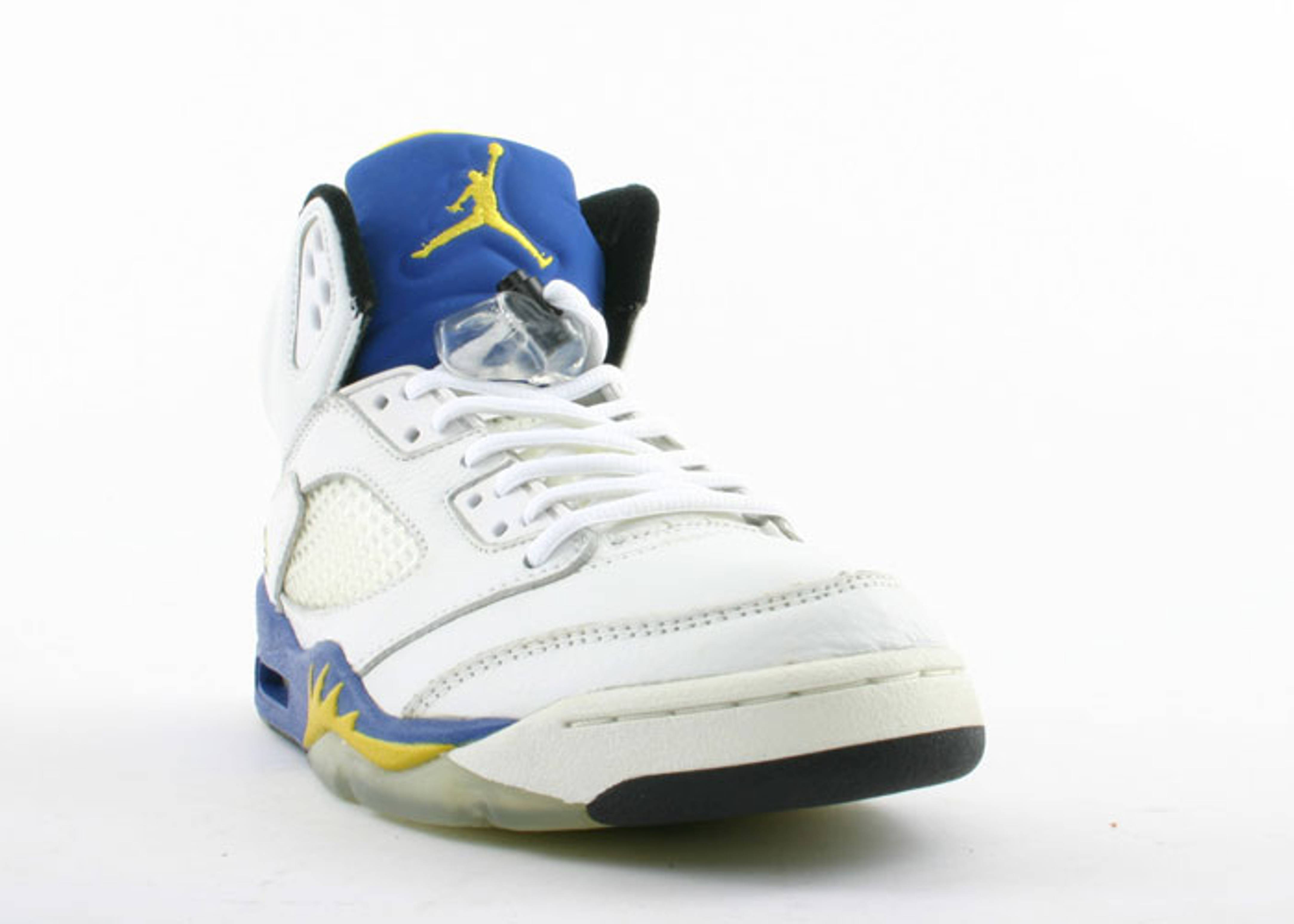 air jordan 5 retro + 3/4 hi men \u0026quot;laney\u0026quot;
