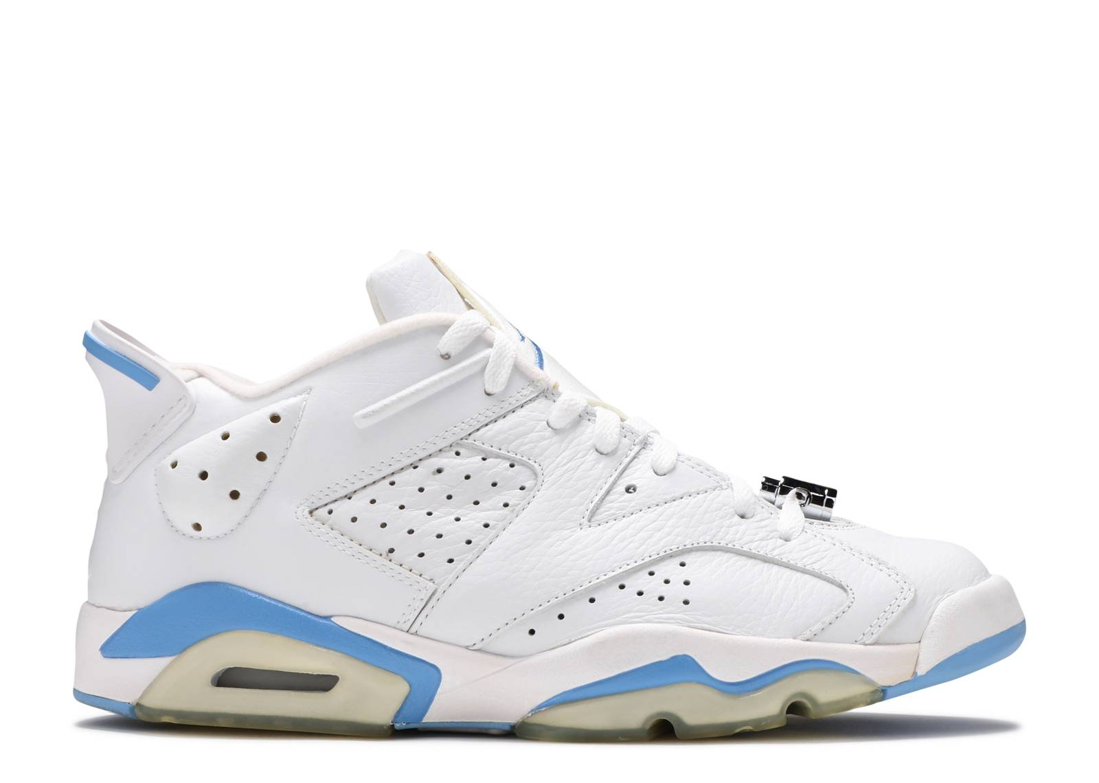 jordan 6 low blue and white