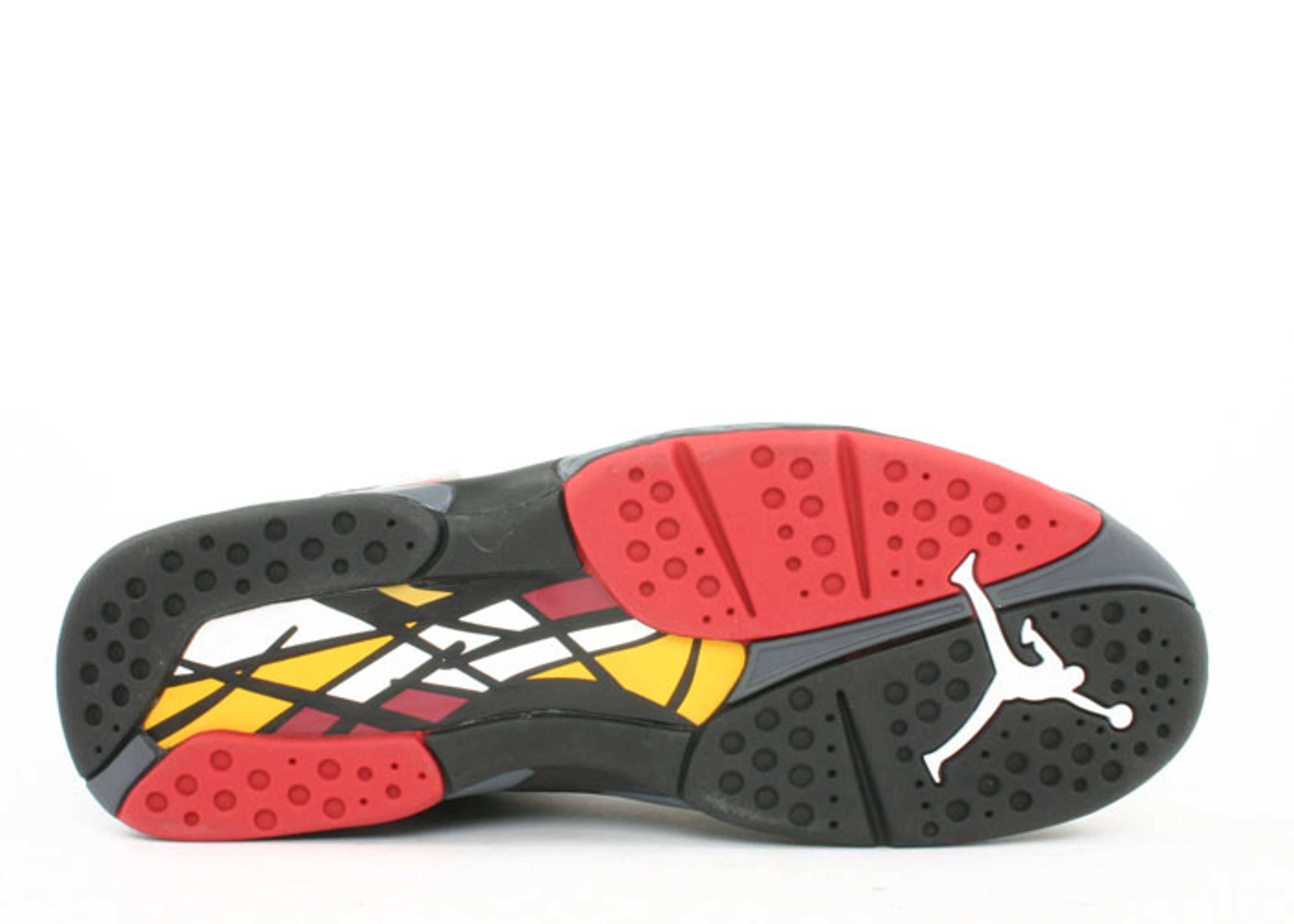 black red jordan 8