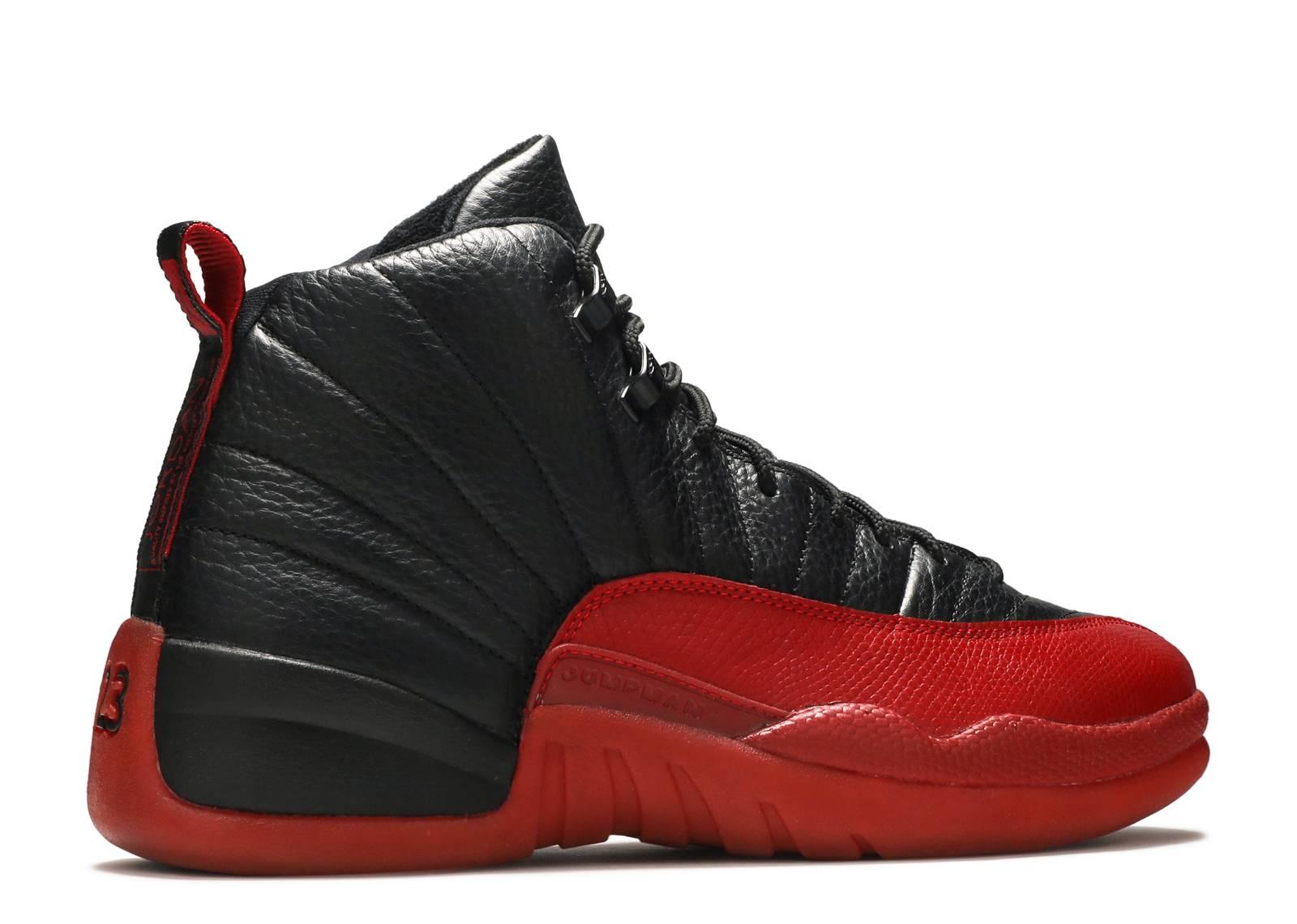 821b388e8753 Air Jordan 12 Retro - Air Jordan - 136001 063 - black varsity red ...