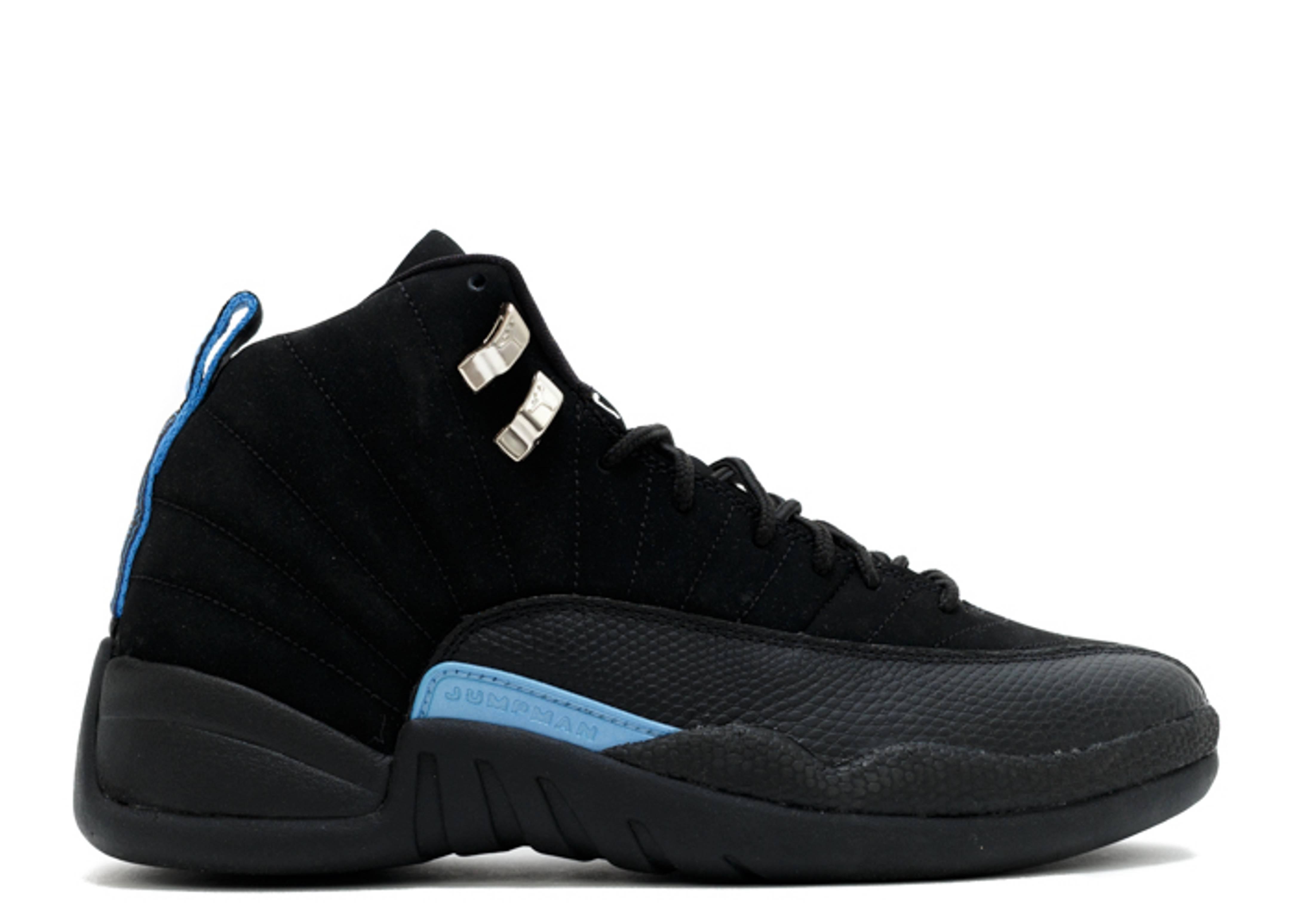 air jordan 12 black and blue