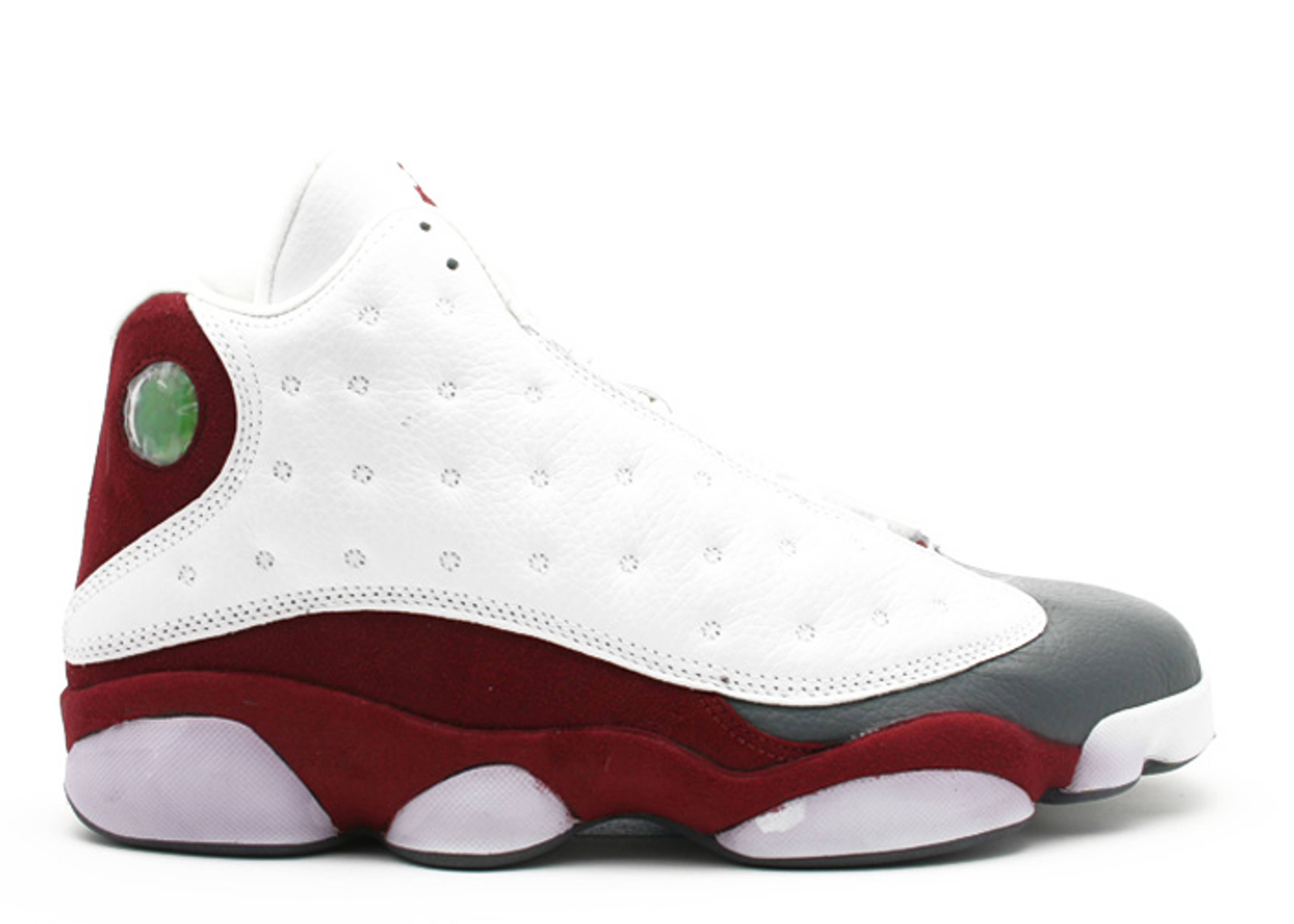 Air Jordan 13 Retro White Team Red Flint Grey