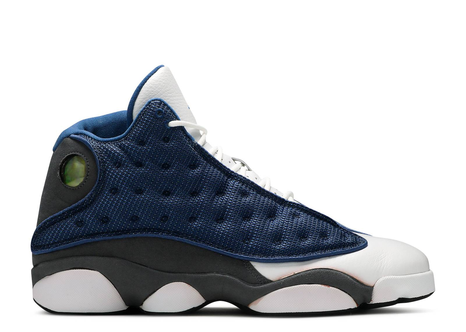 air jordan retro 13 french blue flint grey white cat