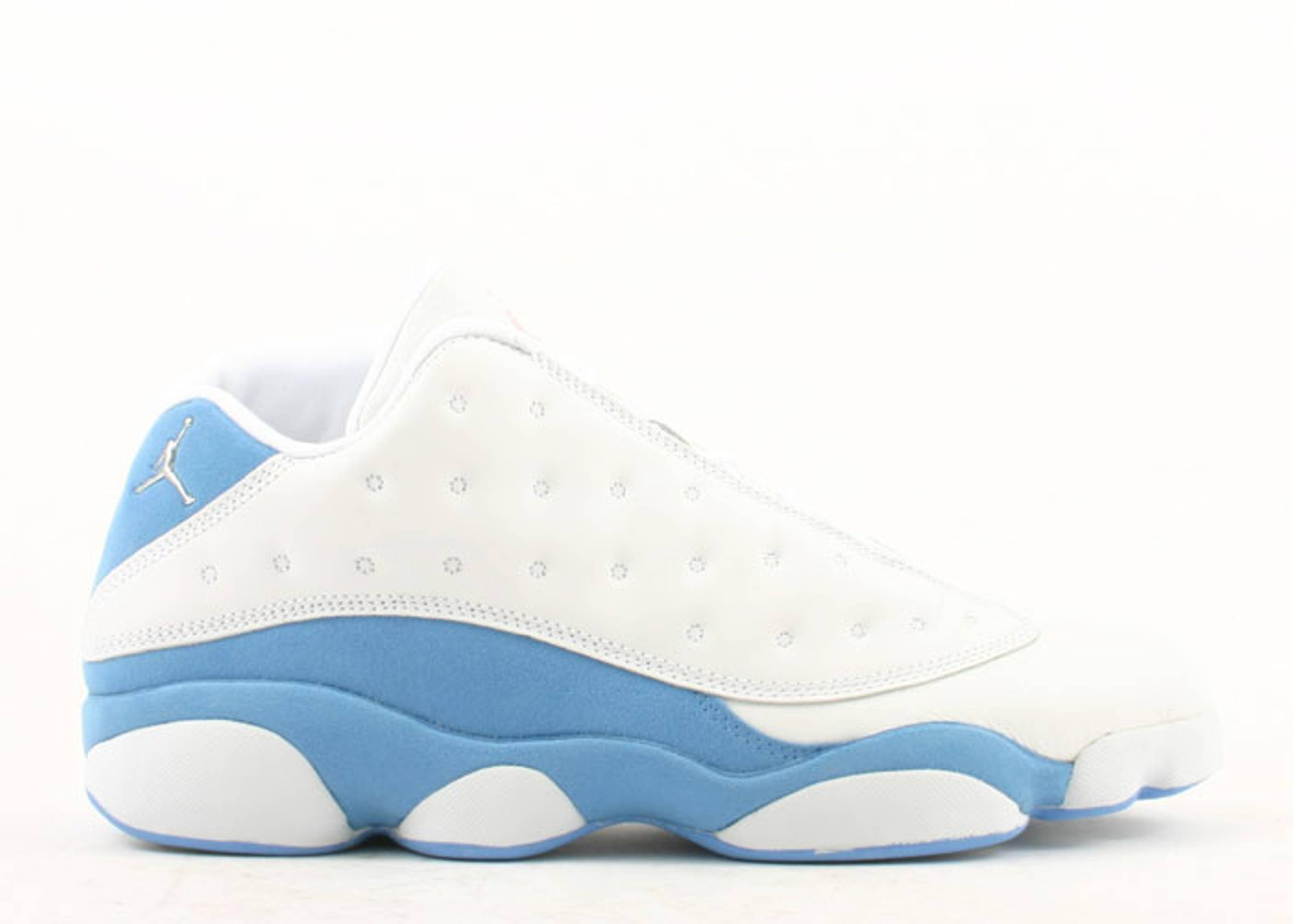 jordan retro 13 white and blue