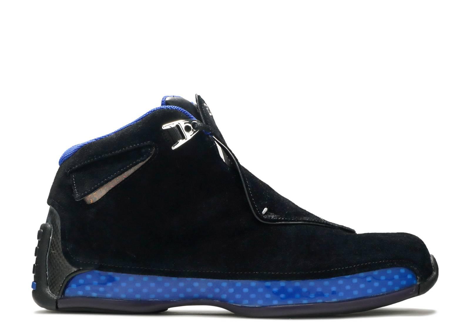 """air jordan 18 """"Black Sport Royal"""""""