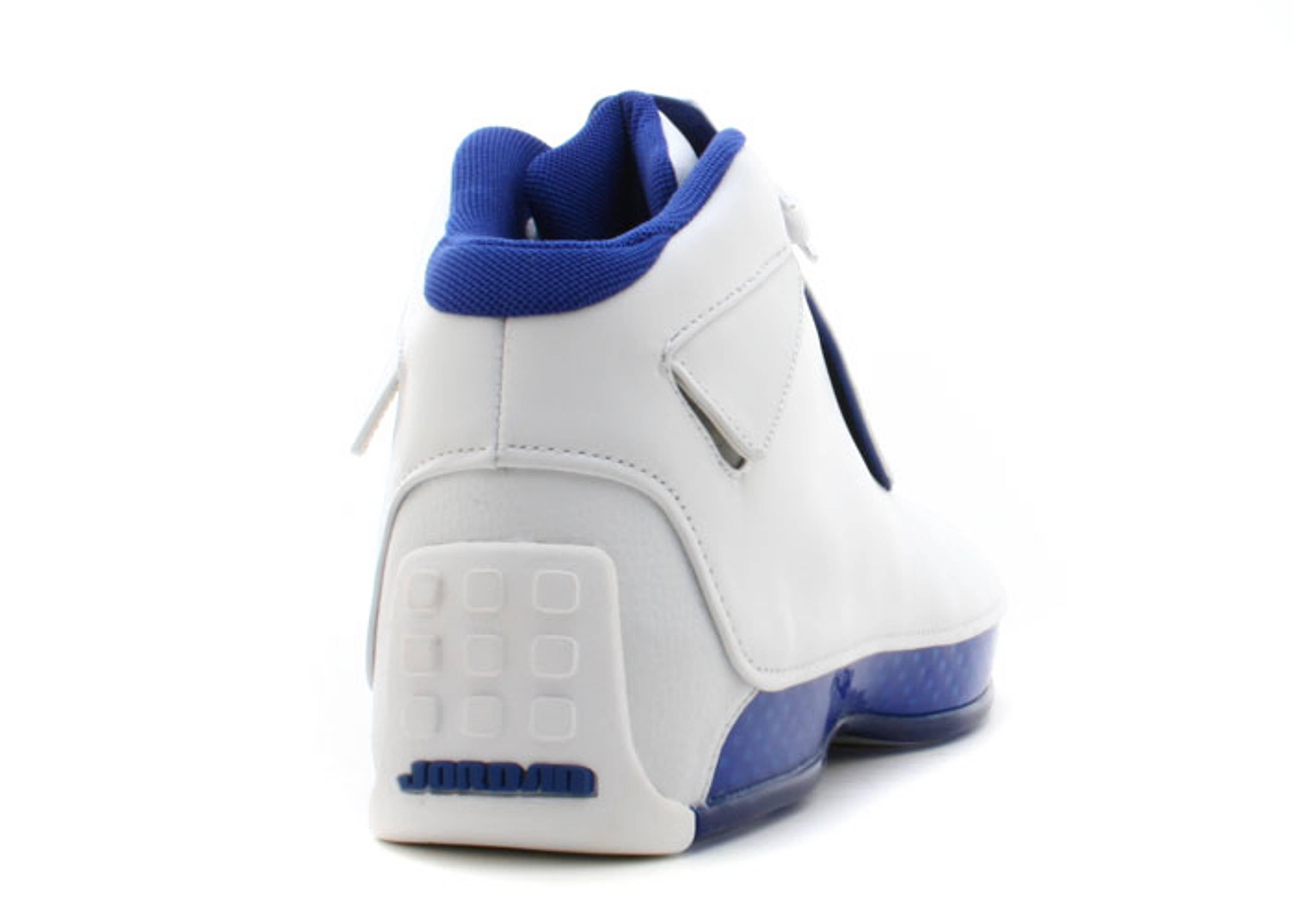 "air jordan 18 ""White Sport Royal"""