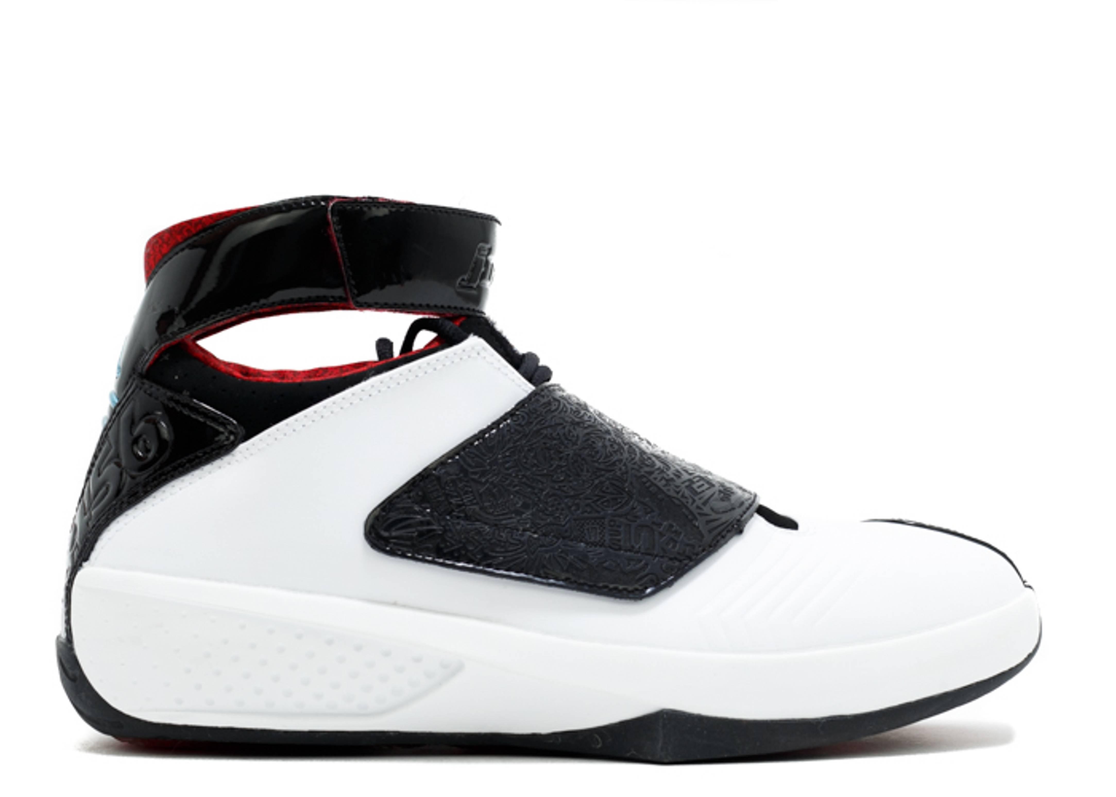 Air Jordan 20 Black Blanc Rouge