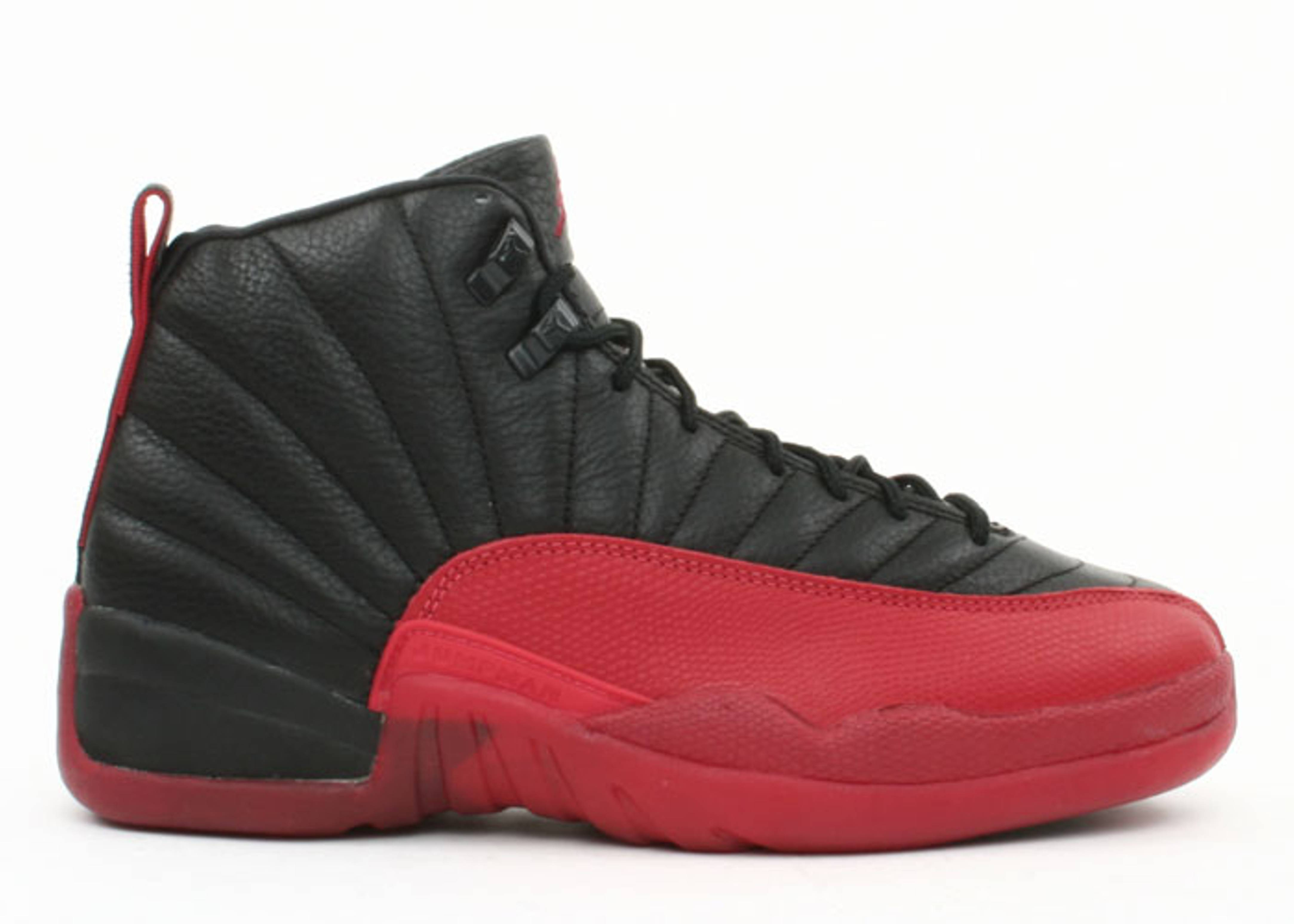 ... jumpman red black; air jordan 12 (og) black varsity red air jordans  flight club ...