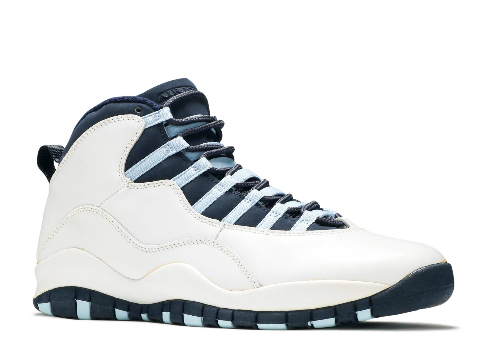 air jordan 10 retro - white/obsidian-ice blue-v red - Air Jordans | Flight  Club