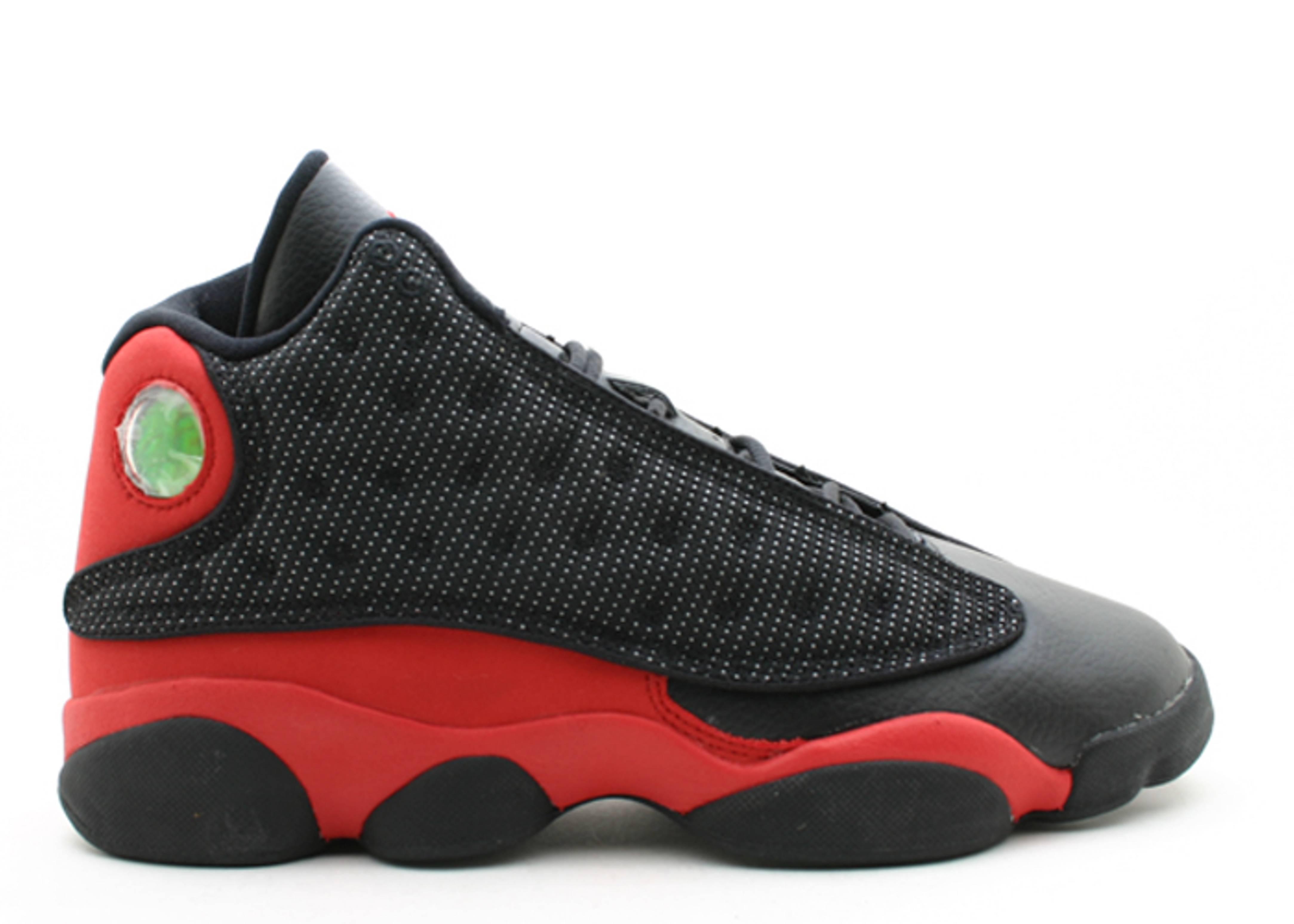 d8a25efb75cf Air Jordan Retro 13 (gs) - Air Jordan - 309260 061 - black true red ...