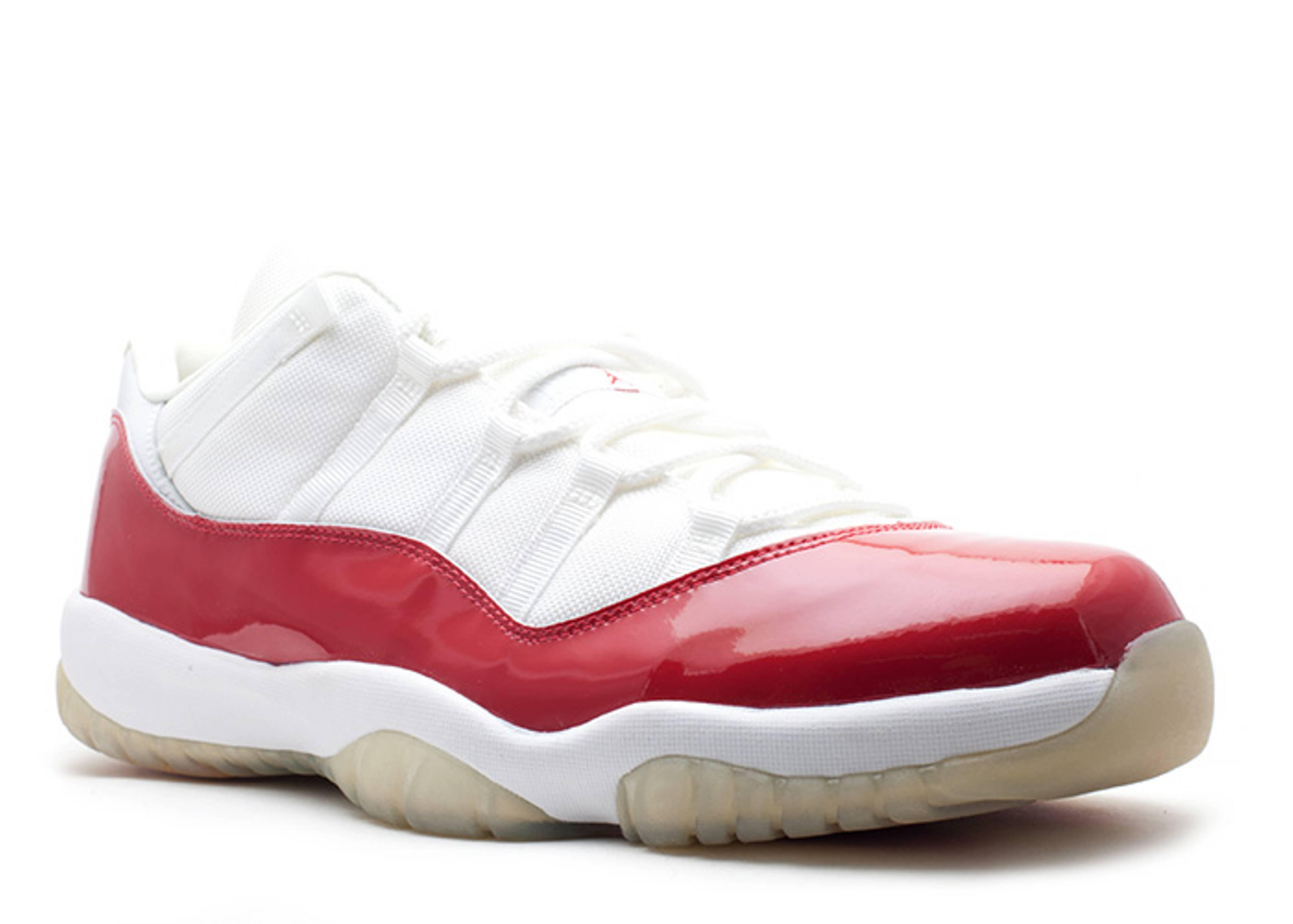 dbd4abe3381f Air Jordan 11 Retro Low - Air Jordan - 136053 161 - white varsity red