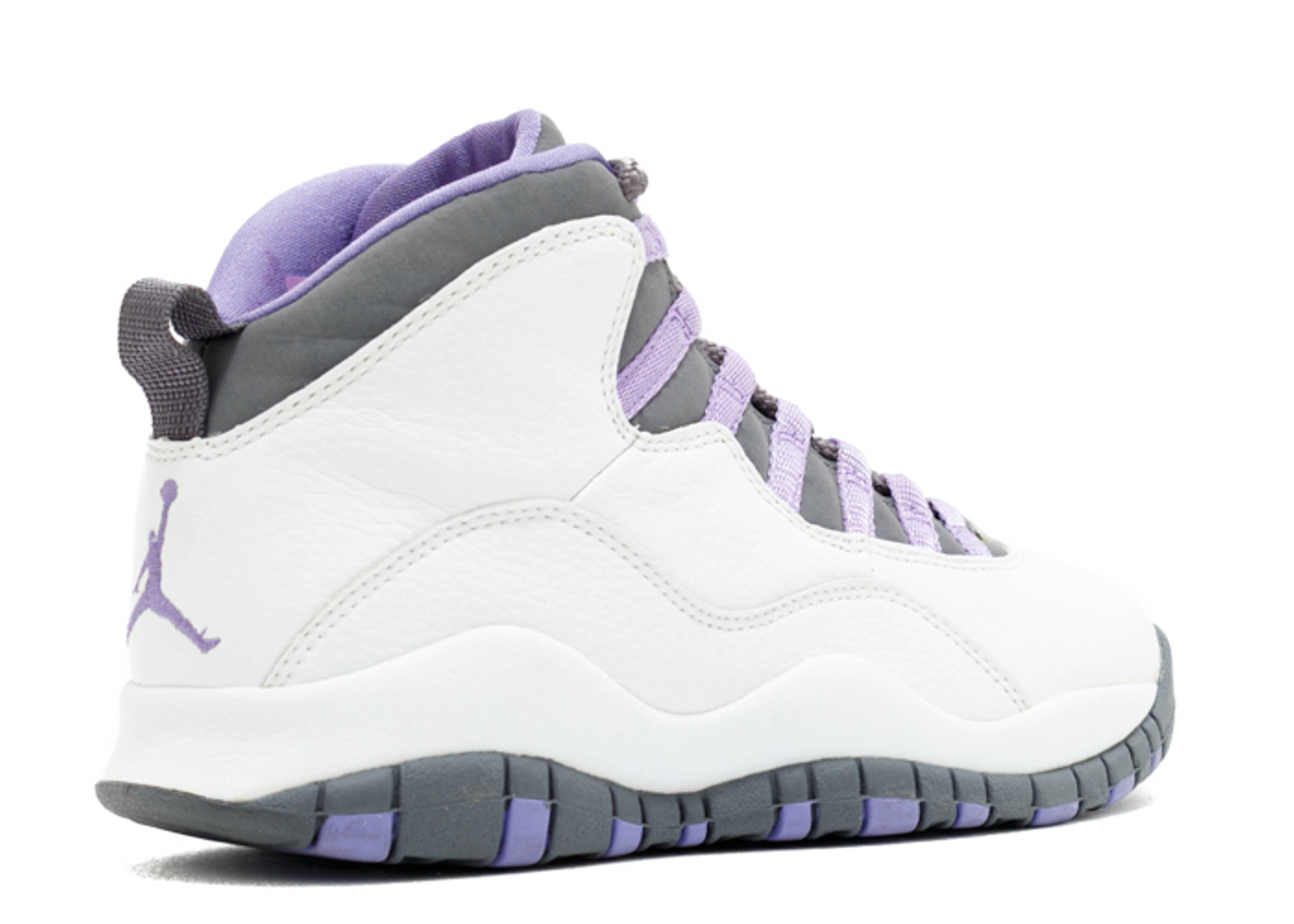 Air Jordan Retro 10 Violet Steel Grey  7cd4e4054
