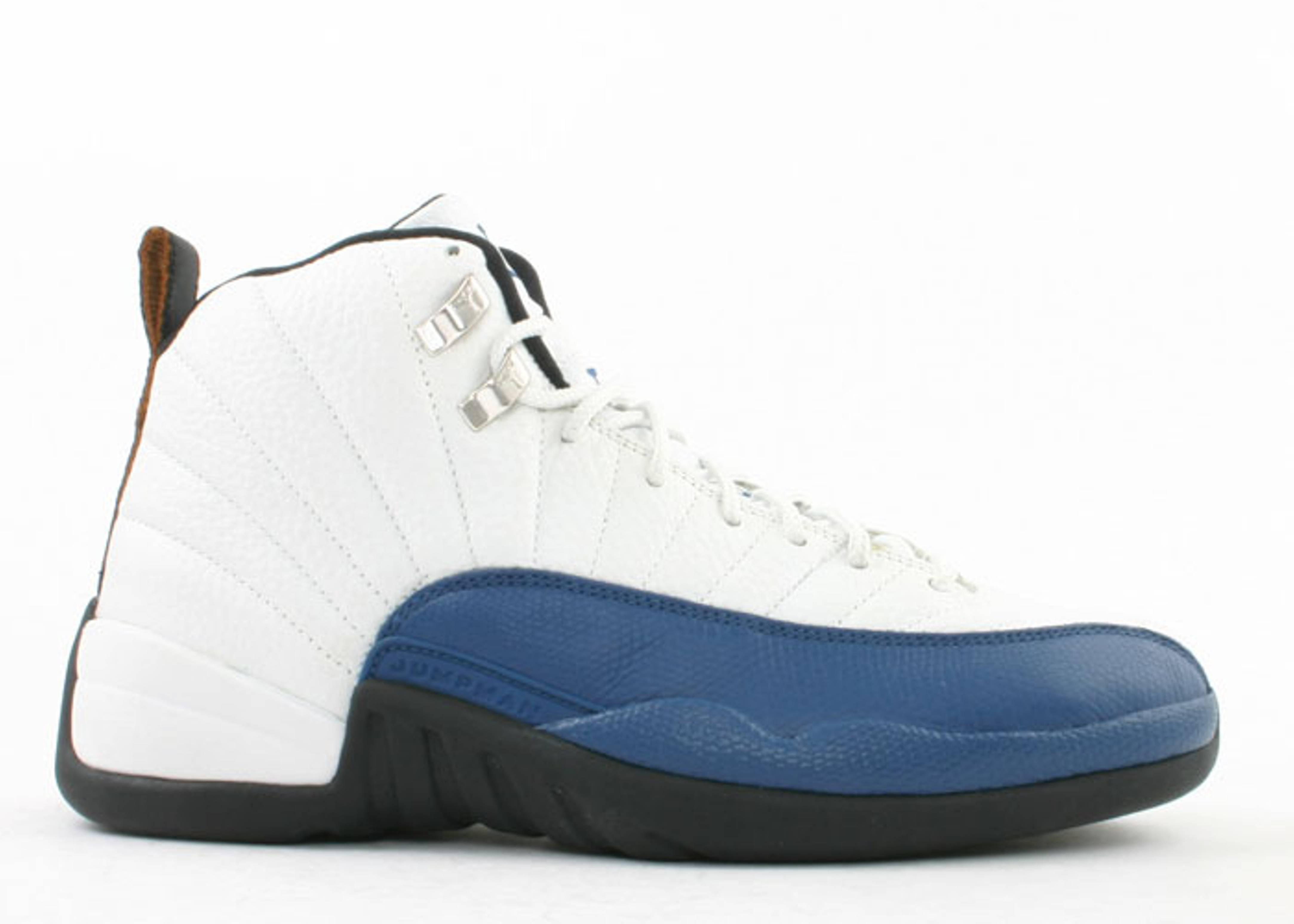 a753c09c845a53 Air Jordan 12 Retro - Air Jordan - 136001141a - white french blue ...
