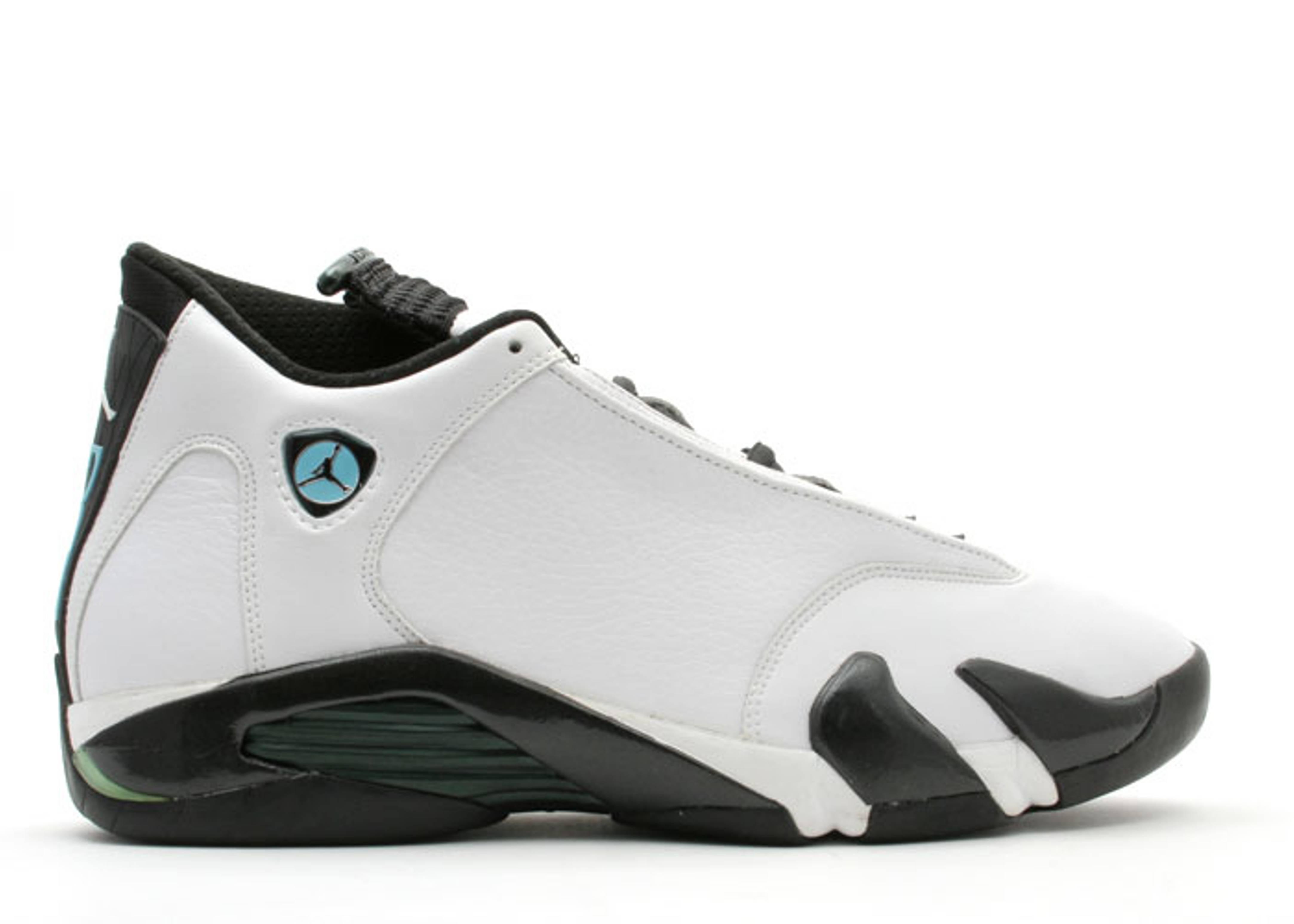 separation shoes fe7da 4047c Air Jordan 14 - Air Jordan - 136011 103 - white black-oxide green ...