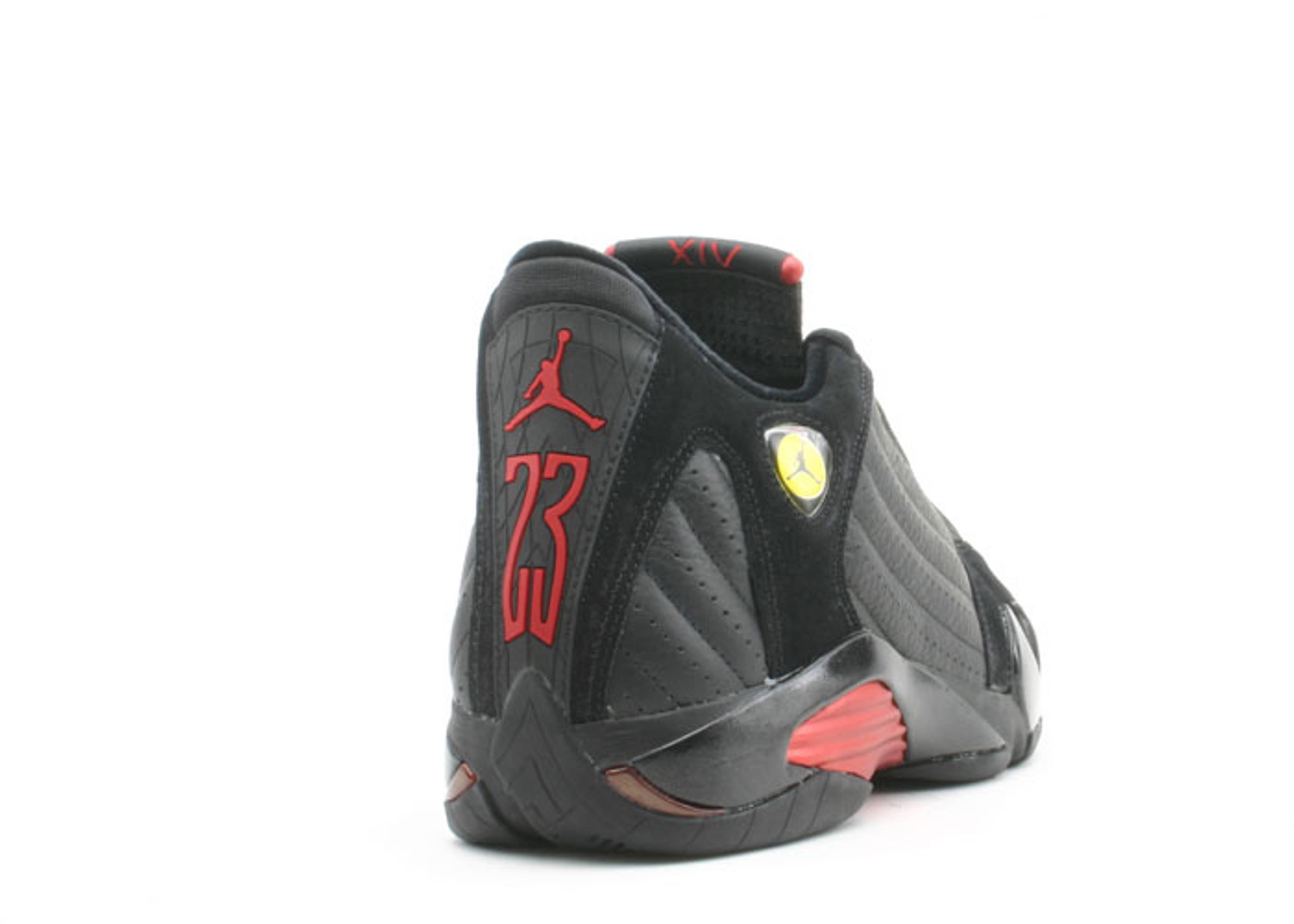 online store f44a0 ea91b Air Jordan 14 Retro - Air Jordan - 311832 002 - black varsity red-black    Flight Club