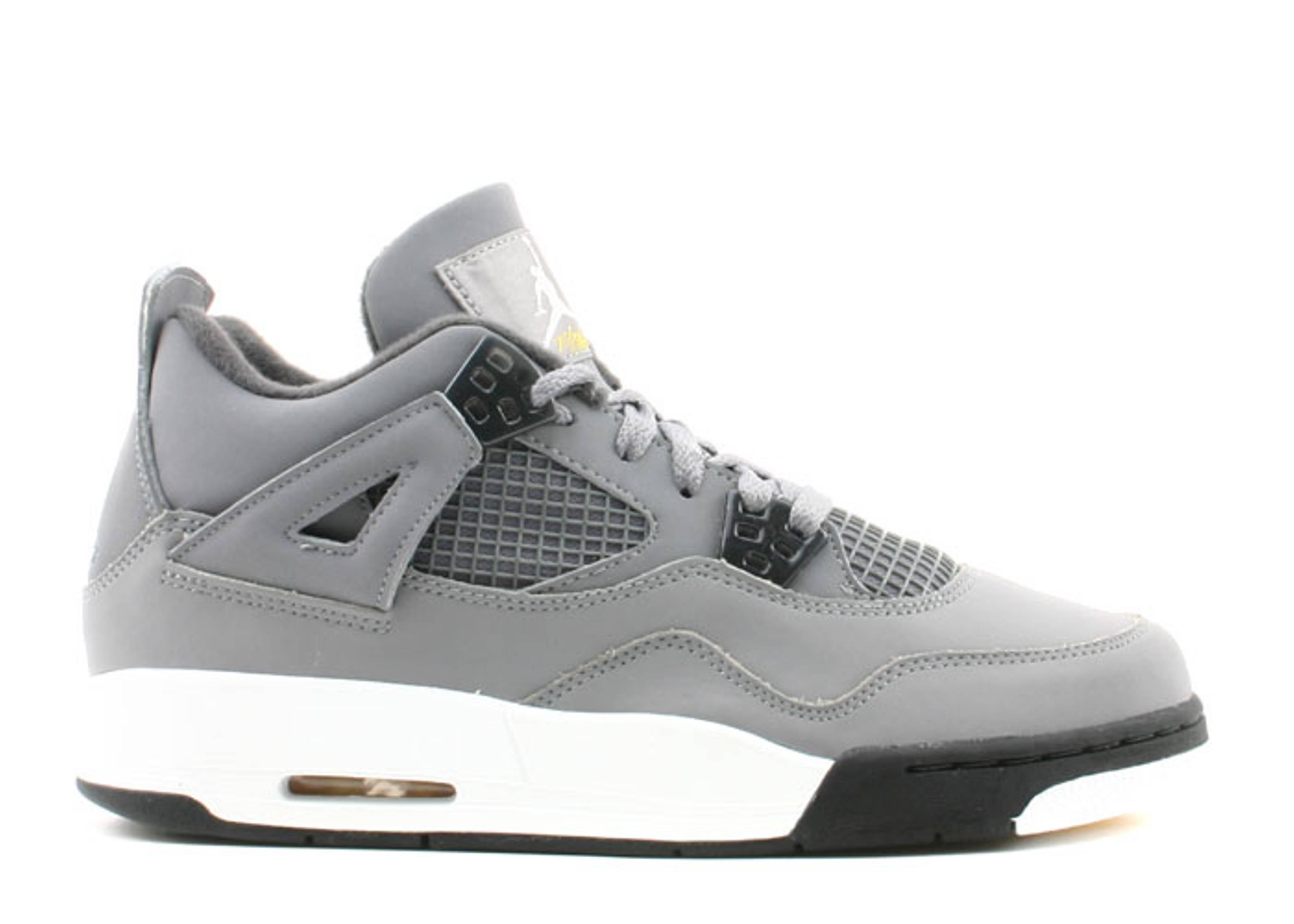 6680116cf42b09 Air Jordan 4 Retro (gs) - Air Jordan - 308498 001 - cool grey chrome ...