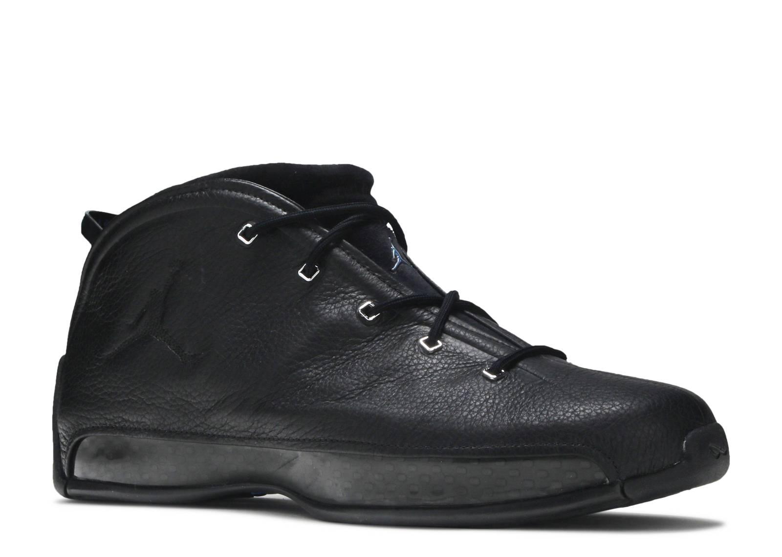 size 40 0cde9 d636e Air Jordan 18.5 - Air Jordan - 306890 002 - black chrome-university blue    Flight Club