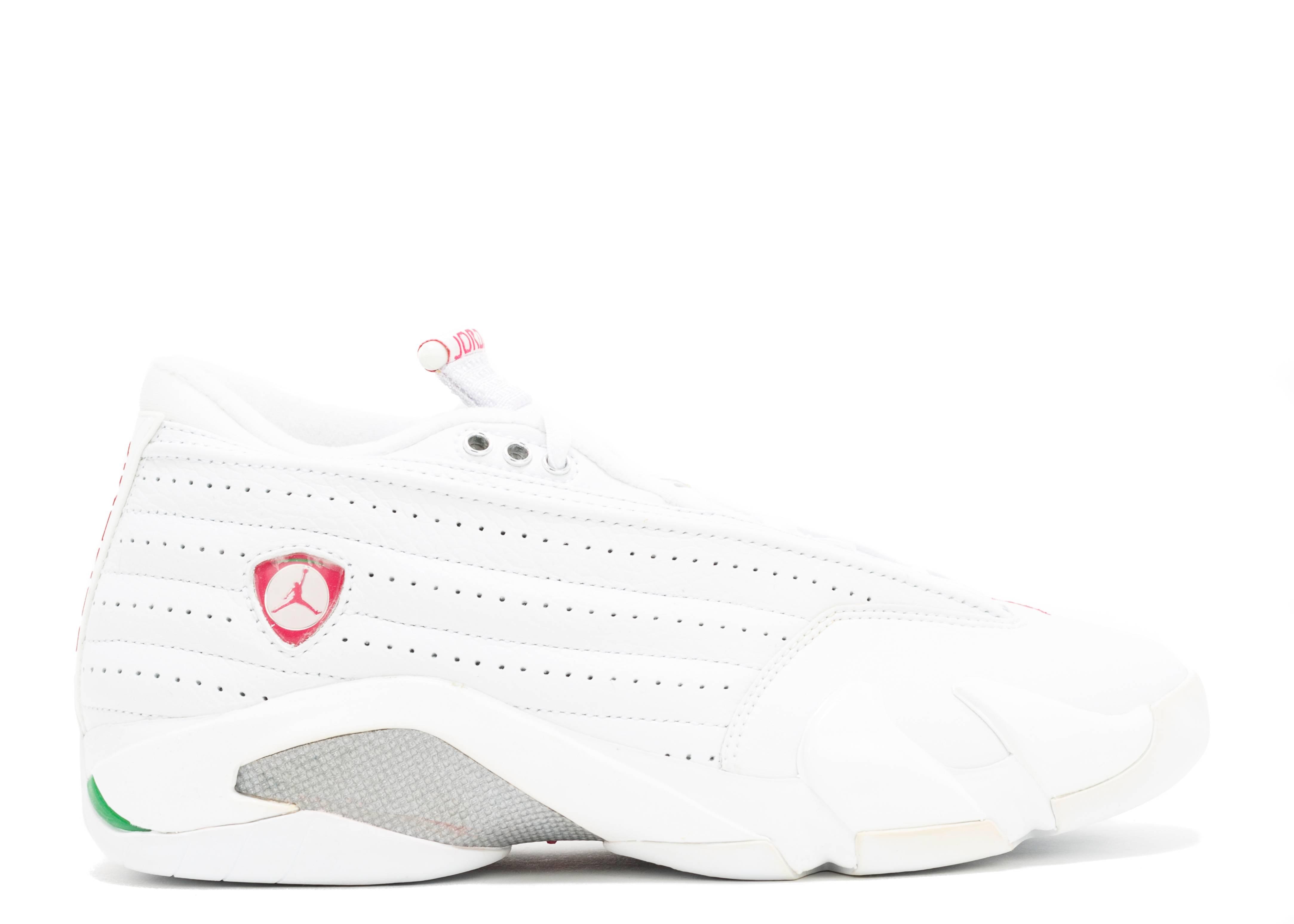 e096bd2af017 Womens Air Jordan 14 Retro Low - Air Jordan - 313044 161 - white ...