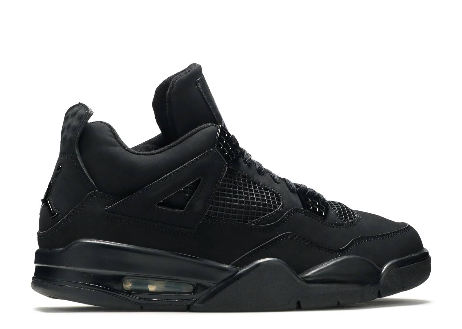 ce0706771fcd ... All Black 4 Air Jordan 4 Retro ...