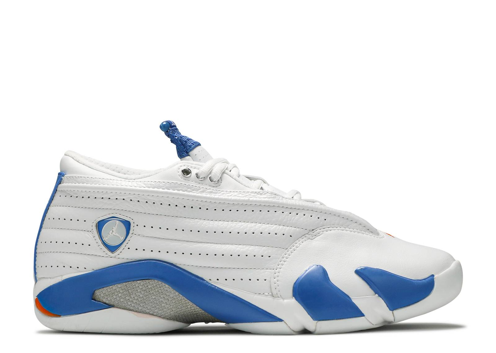 "air jordan 14 retro low ""White Pacific Blue"""