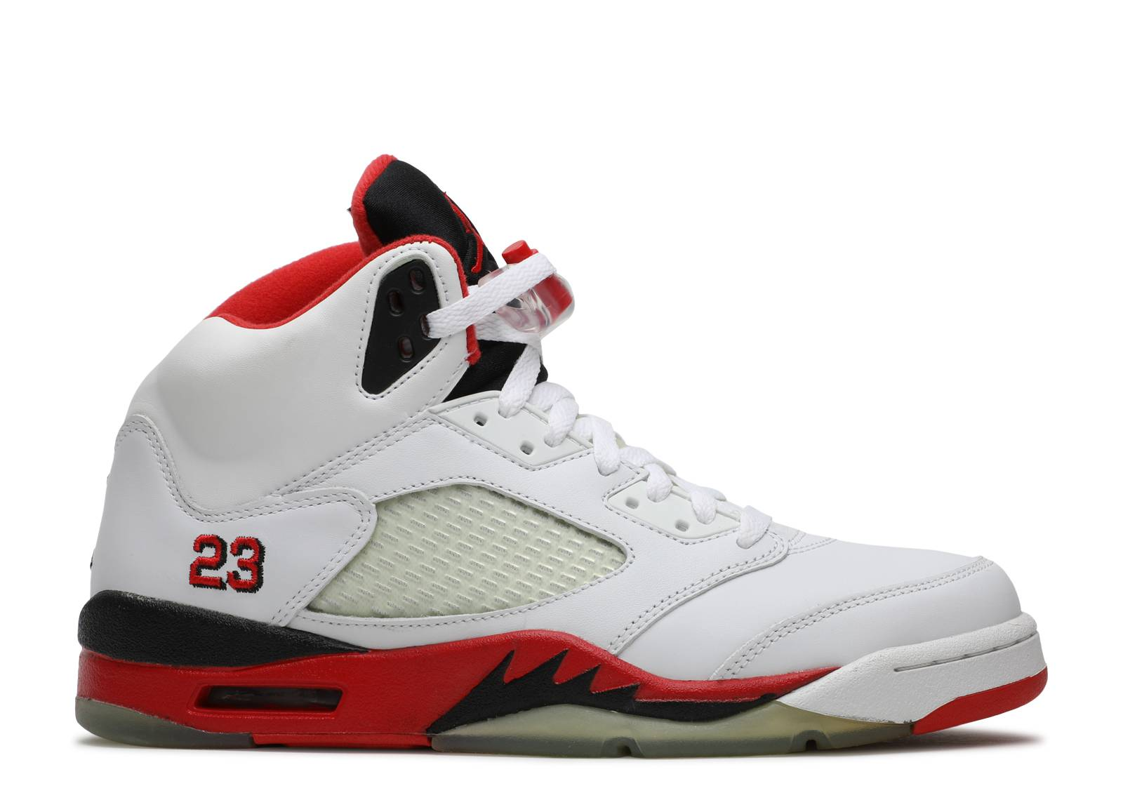 76e619ab8c9972 Air Jordan 5 Retro - Air Jordan - 136027 162 - white fire red-black ...