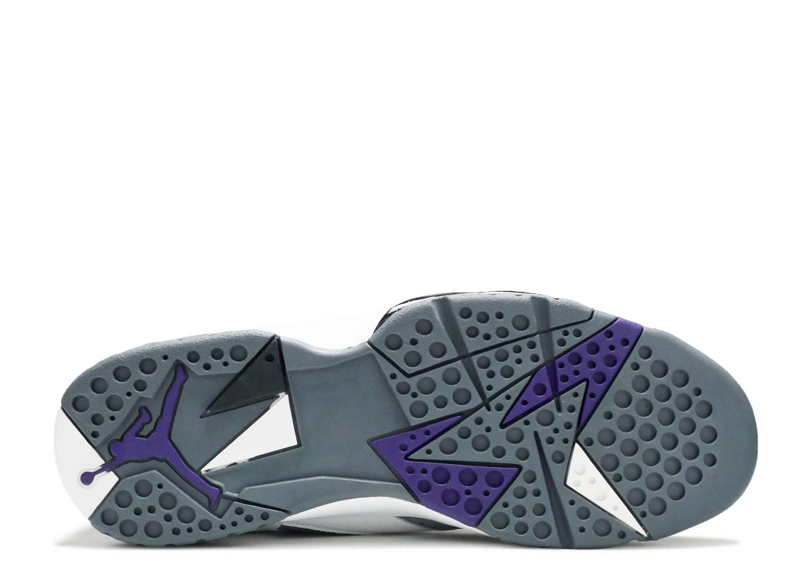 7719ff21134 Air Jordan 7 Retro - Air Jordan - 304775 151 - white varsity purple-flint  grey