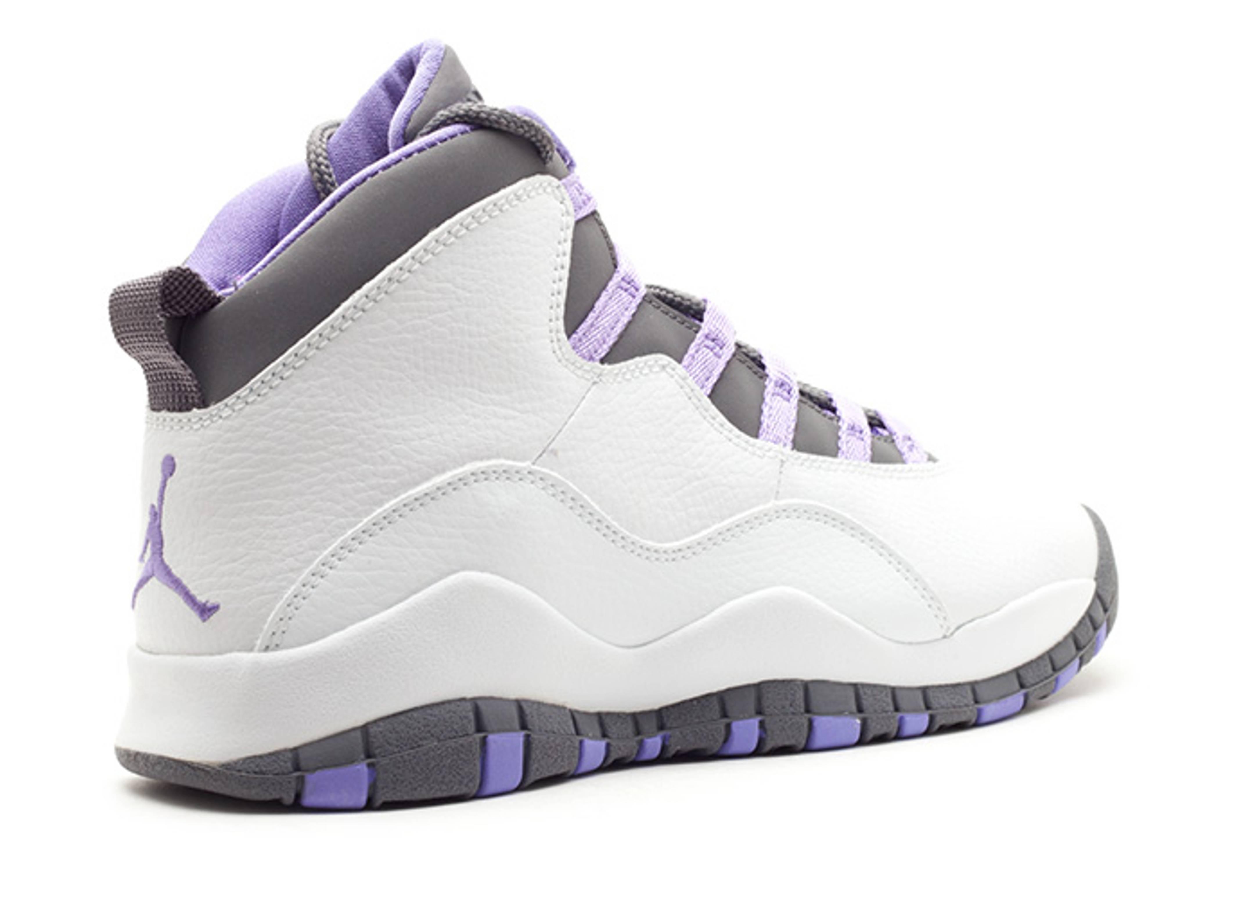 hot sale online c5a46 16552 Air Jordan 10 Retro (gs) - Air Jordan - 310806 151 - white ...