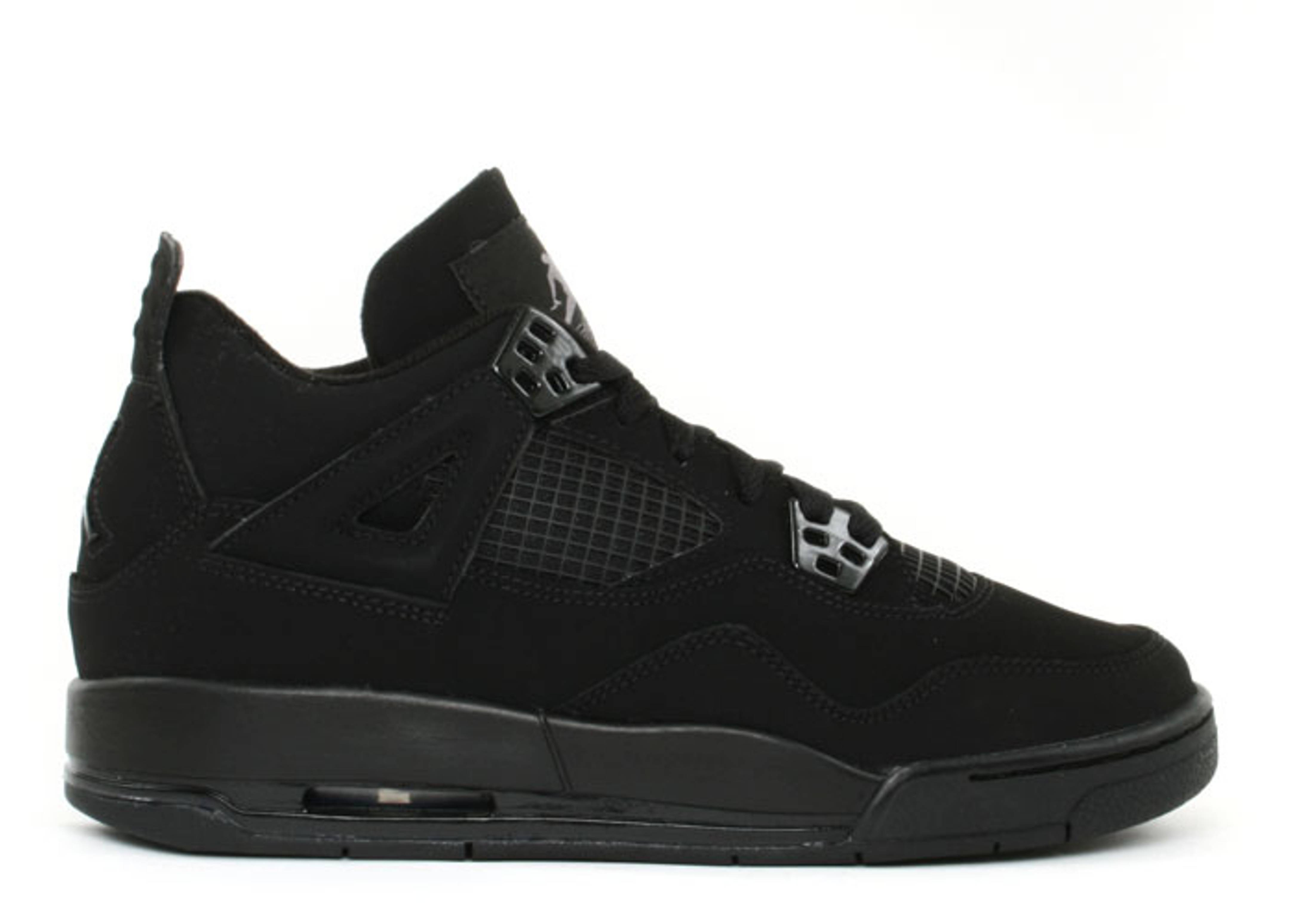 "air jordan 4 retro (gs) ""black cat"""