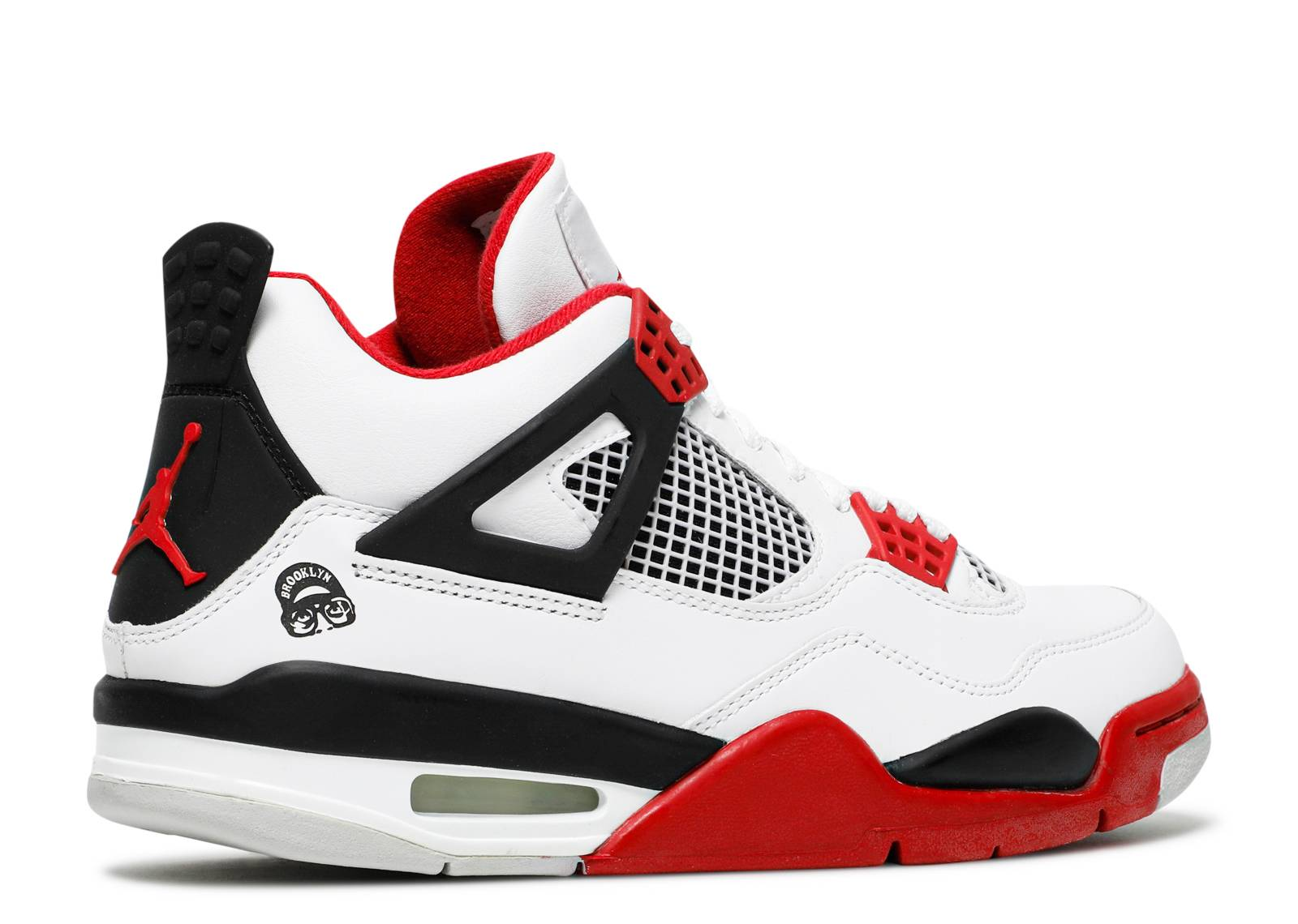 air jordan 4 retro white red